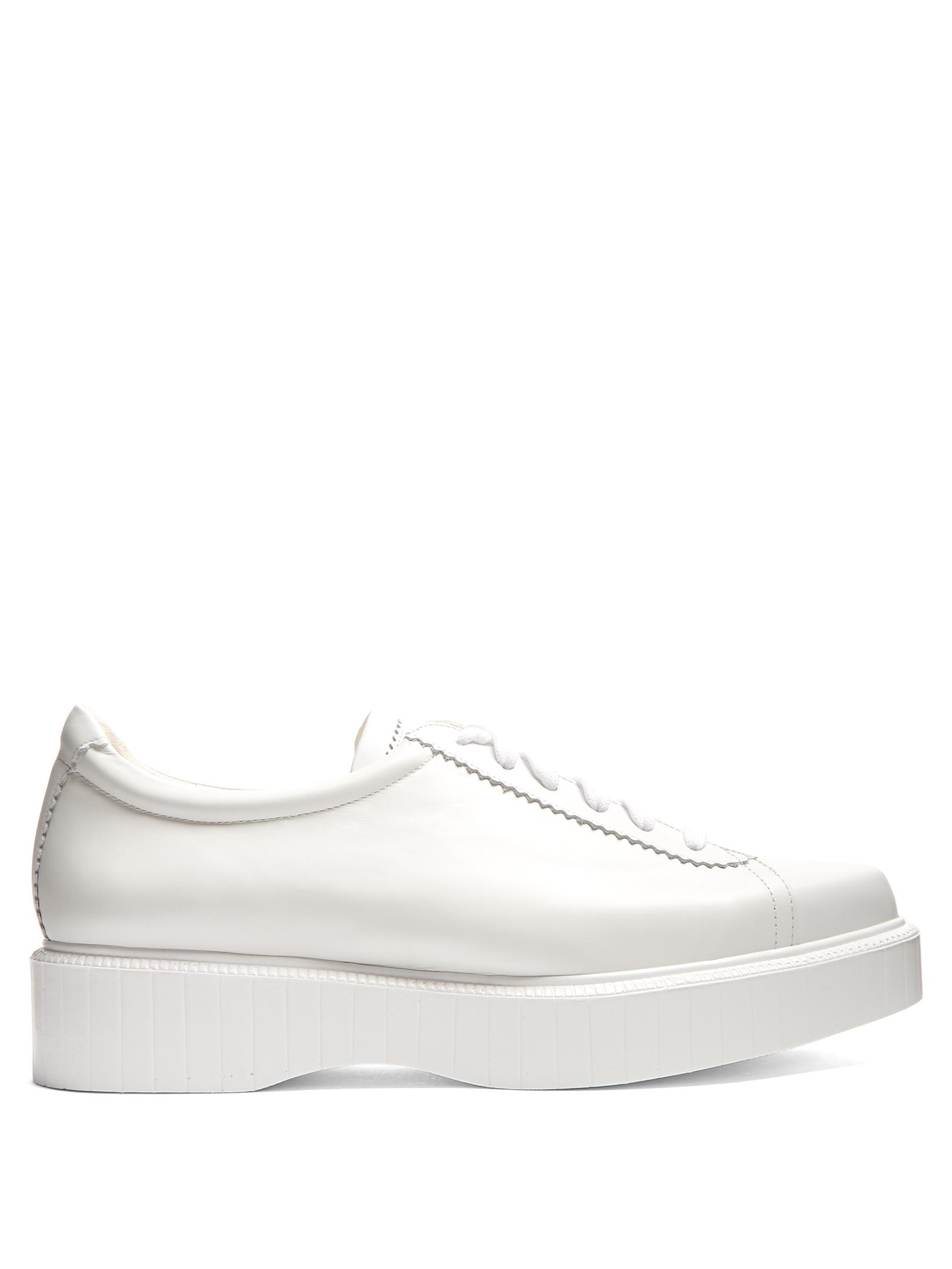 Robert Clergerie Leather Trainers eXcogdr3g