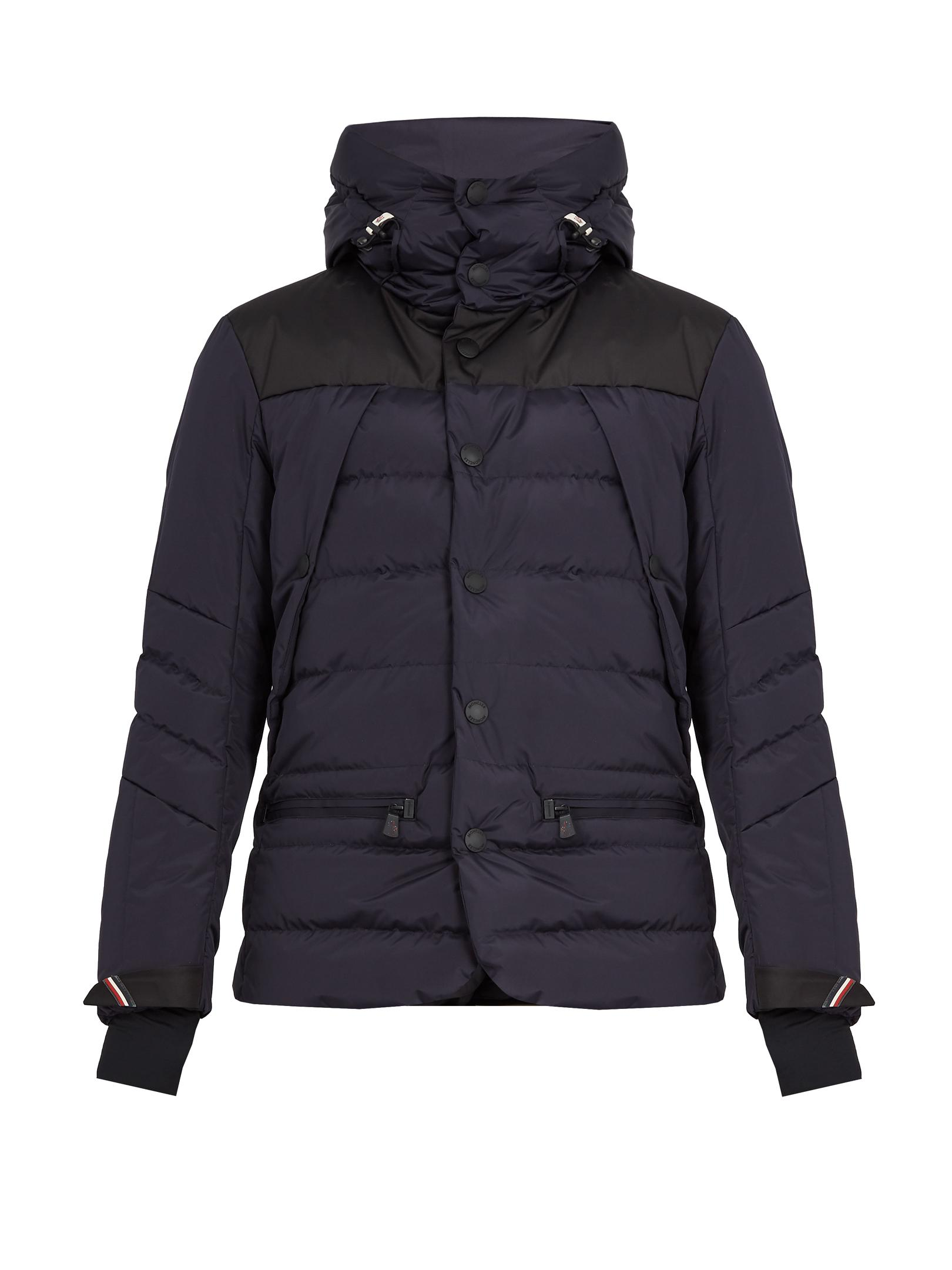 3 Moncler Grenoble Synthetic Arvieux Hooded Quilted Down