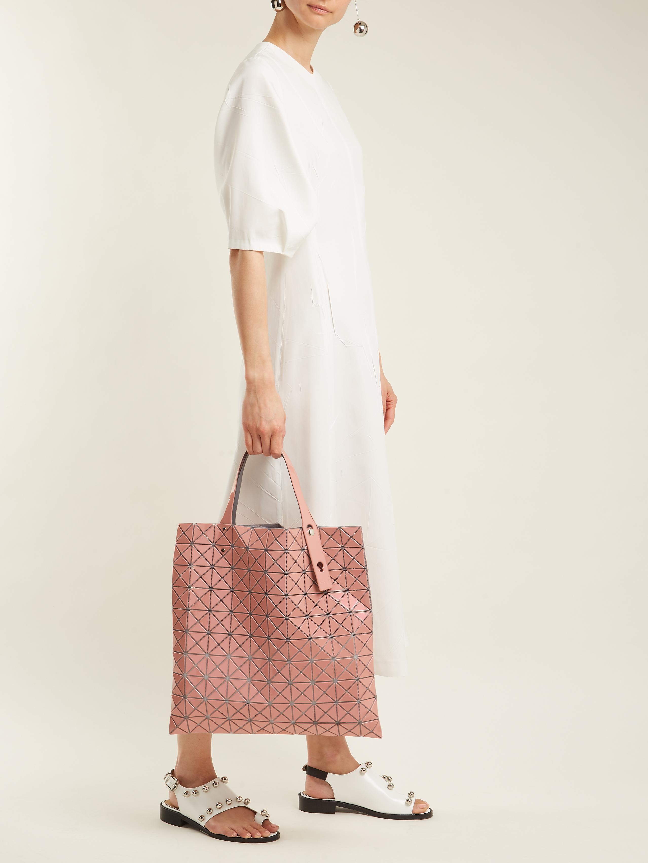 Bao Bao Issey Miyake Prism Tote Bag in Light Pink (Pink)