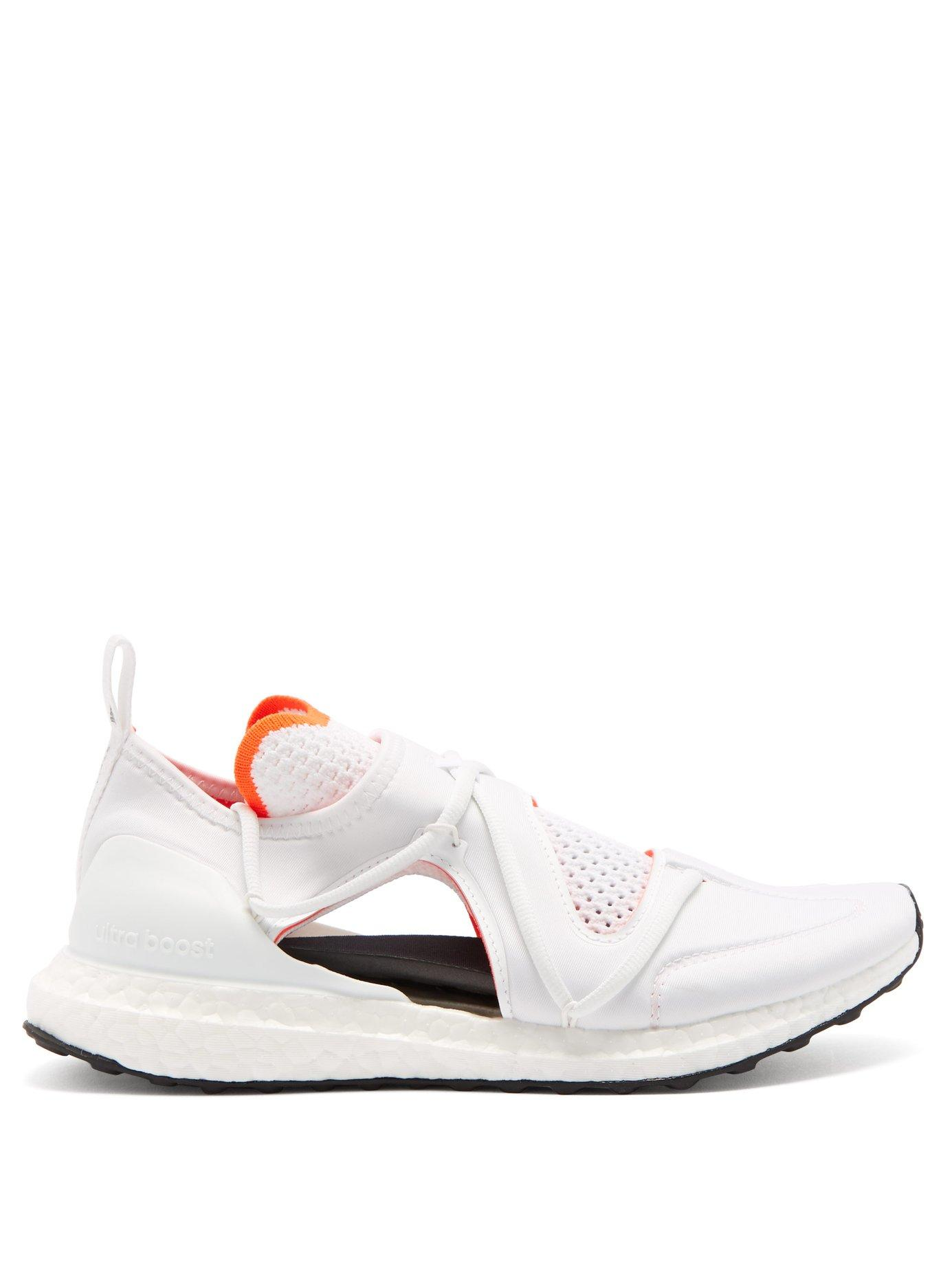56504fba5b adidas By Stella McCartney. Women s White Ultraboost Cut Out Running  Trainers
