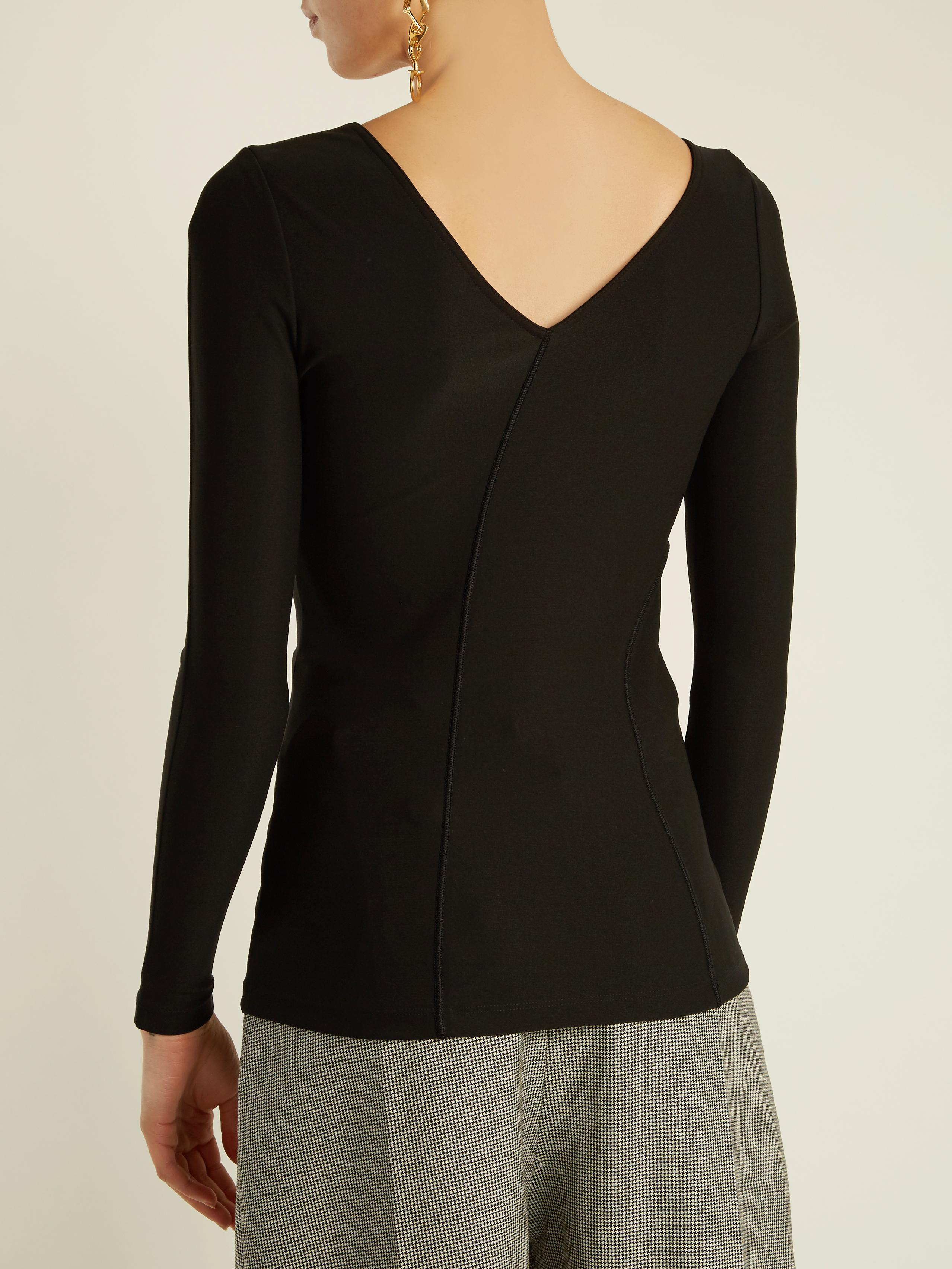 sweetheart neck top - Black Givenchy Affordable Real Cheap Price Discount Purchase Discount Eastbay IL0P7L