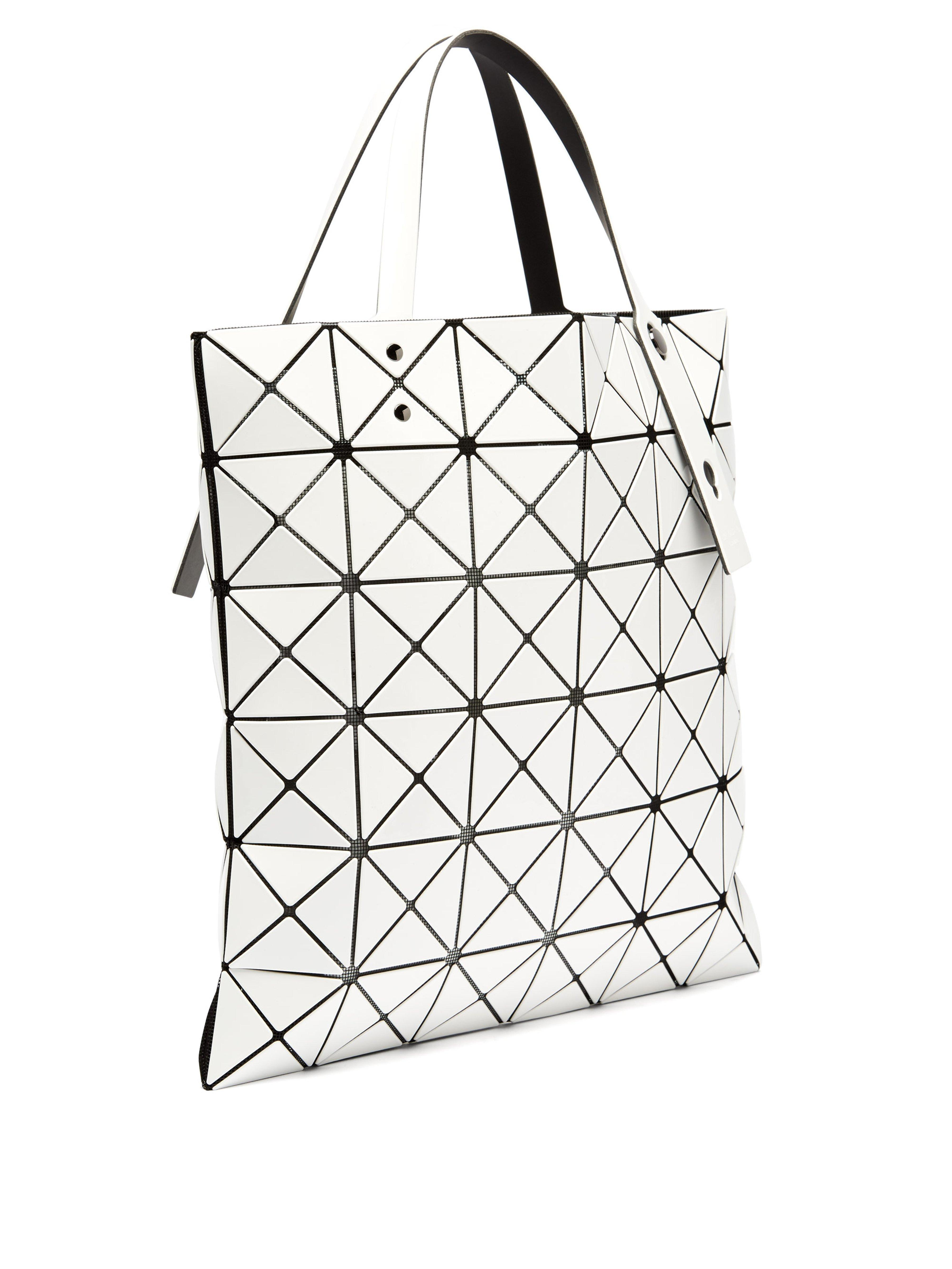 Bao Bao Issey Miyake Synthetic Lucent Tote in White