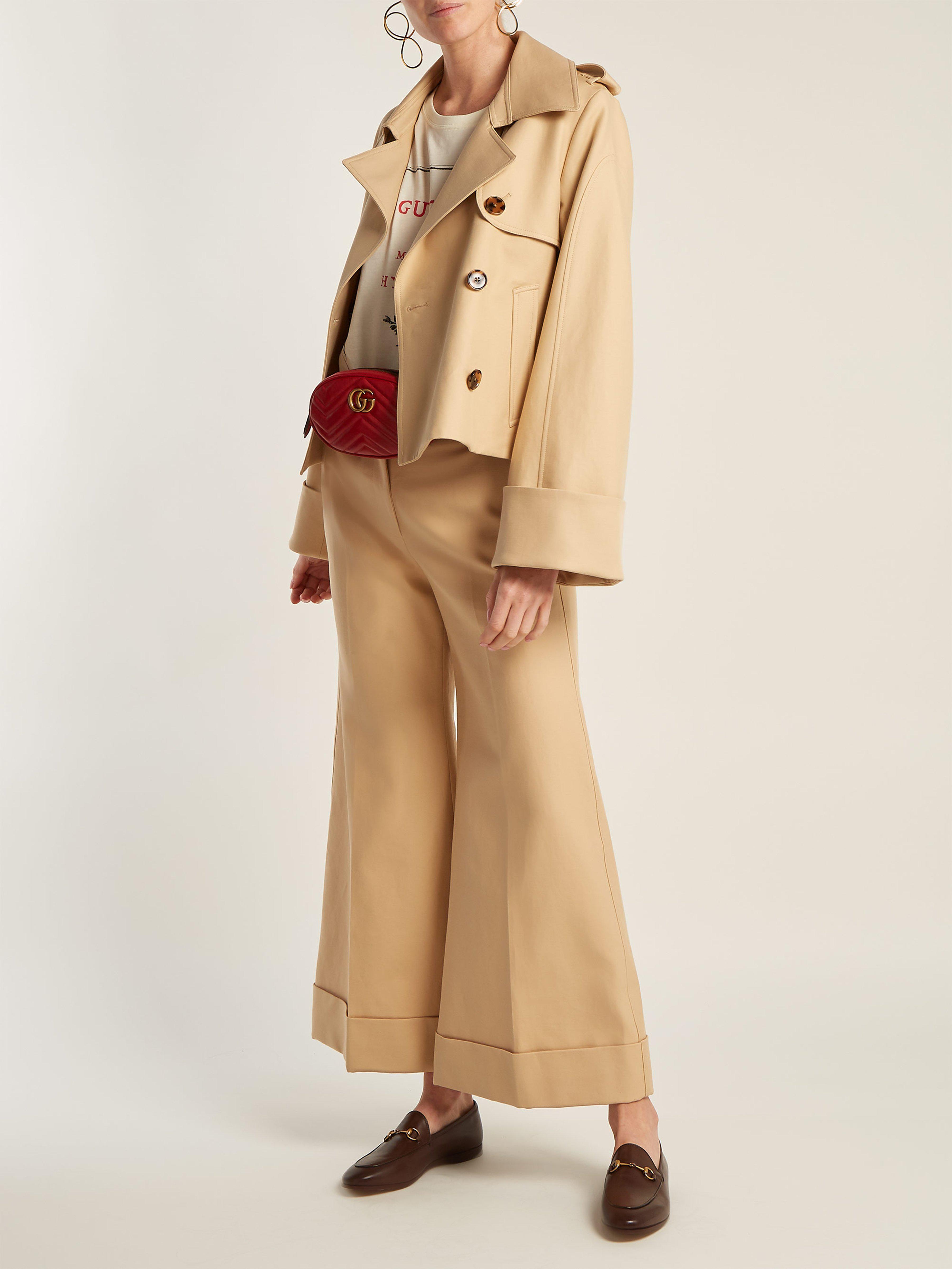 f59ff8ddedc Gucci - Brown Jordaan Leather Loafers - Lyst. View fullscreen