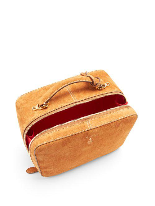 Mark Cross Laura Suede Shoulder Bag