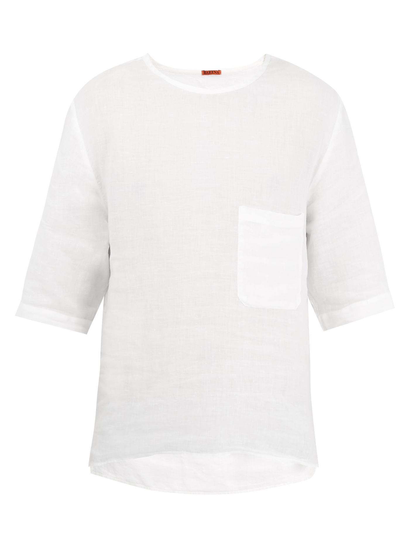 BARENA Crew-neck T-shirt HLFDjFmWu