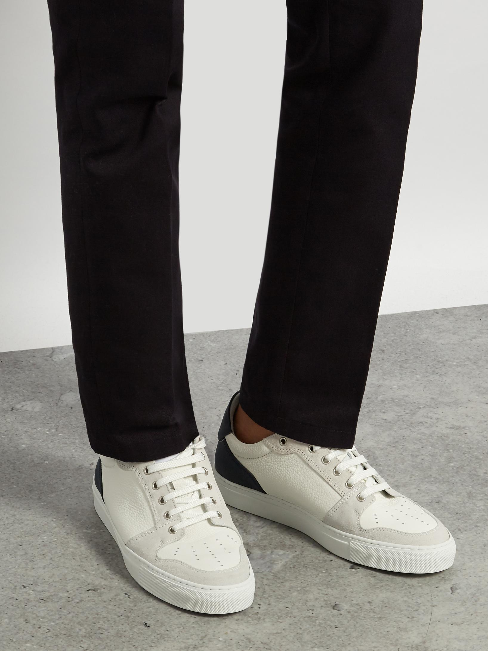 Ami Panelled Low-Top Sneakers 227isS6g8