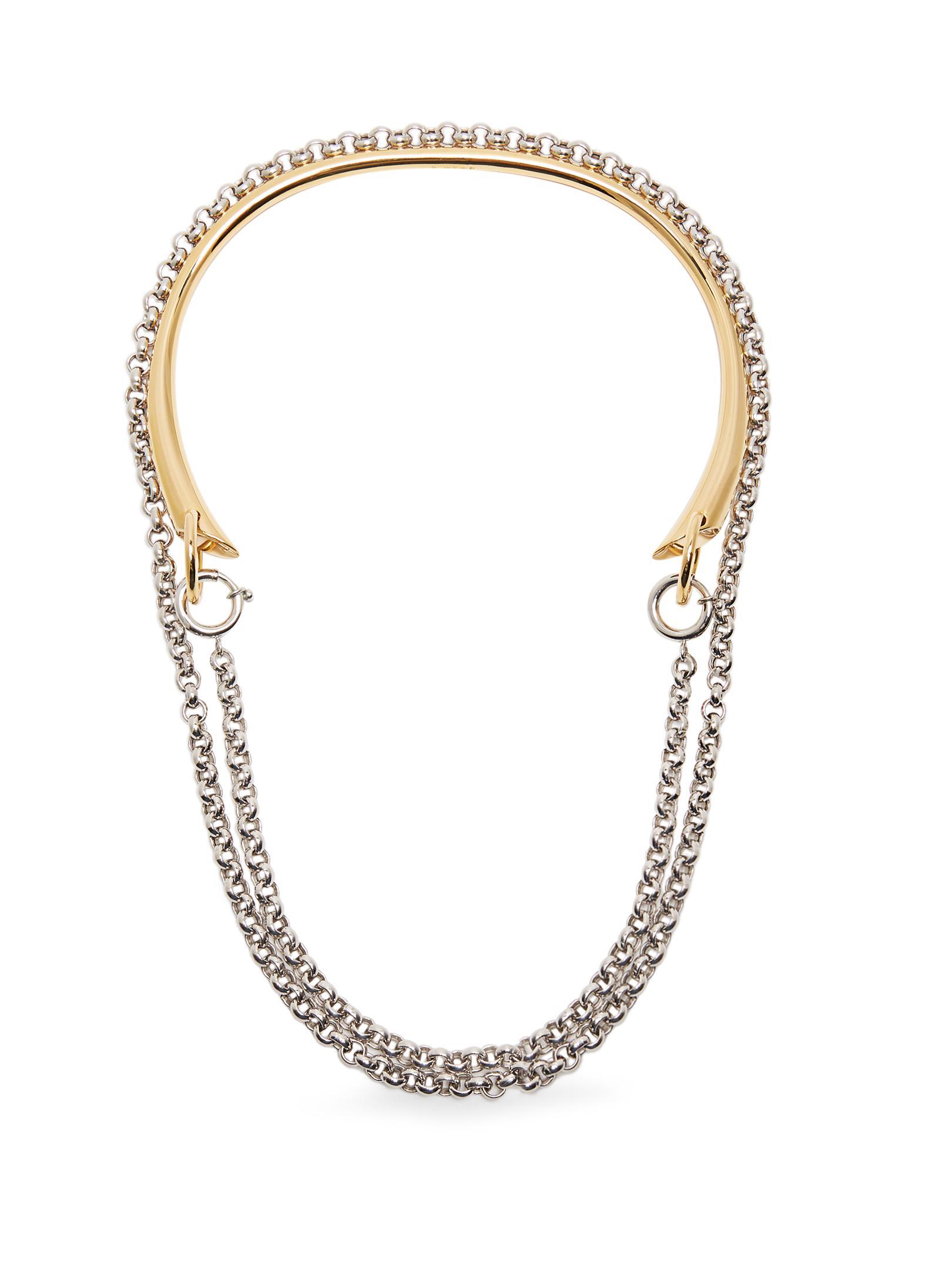 Charlotte Chesnais Briska necklace - Metallic KhYh8Cpjf