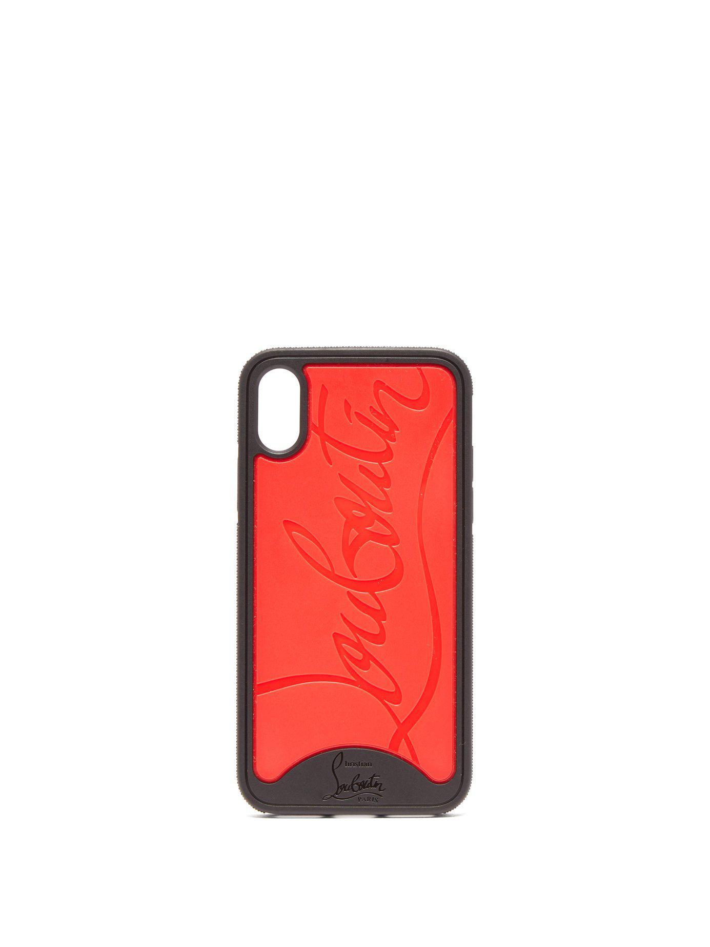 burton logo red 2 iphone case