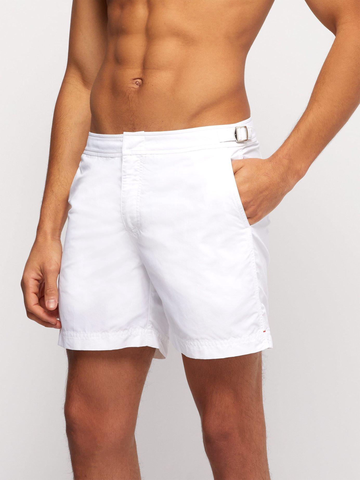125fbc5658d17 Lyst - Orlebar Brown Bulldog Twill Swim Shorts in White for Men