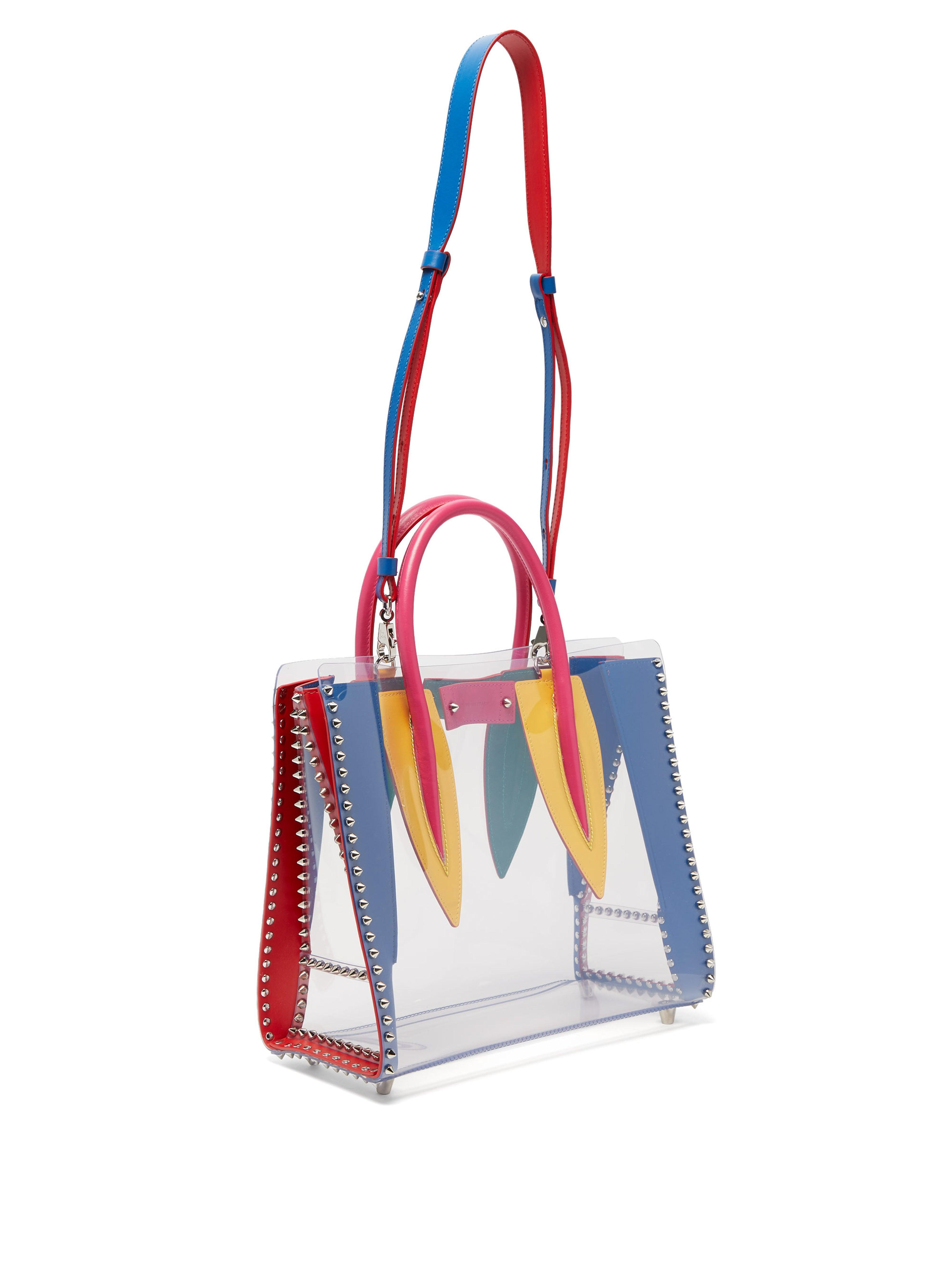 1cfbb58a2ad Women's Paloma Medium Pvc And Leather Tote Bag
