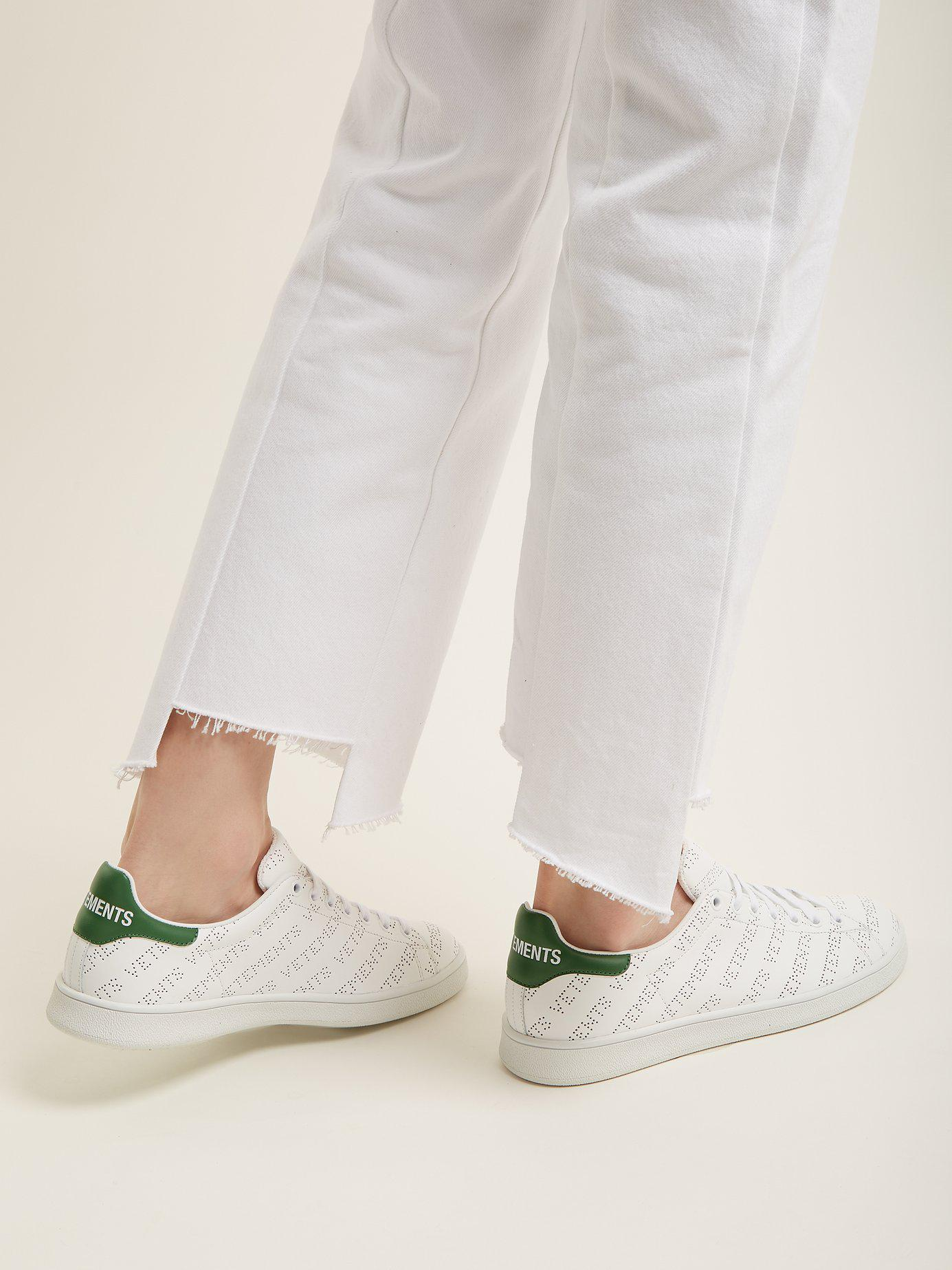 e891dd371dc Lyst - Vetements Low-tops   Sneakers in White - Save 79%