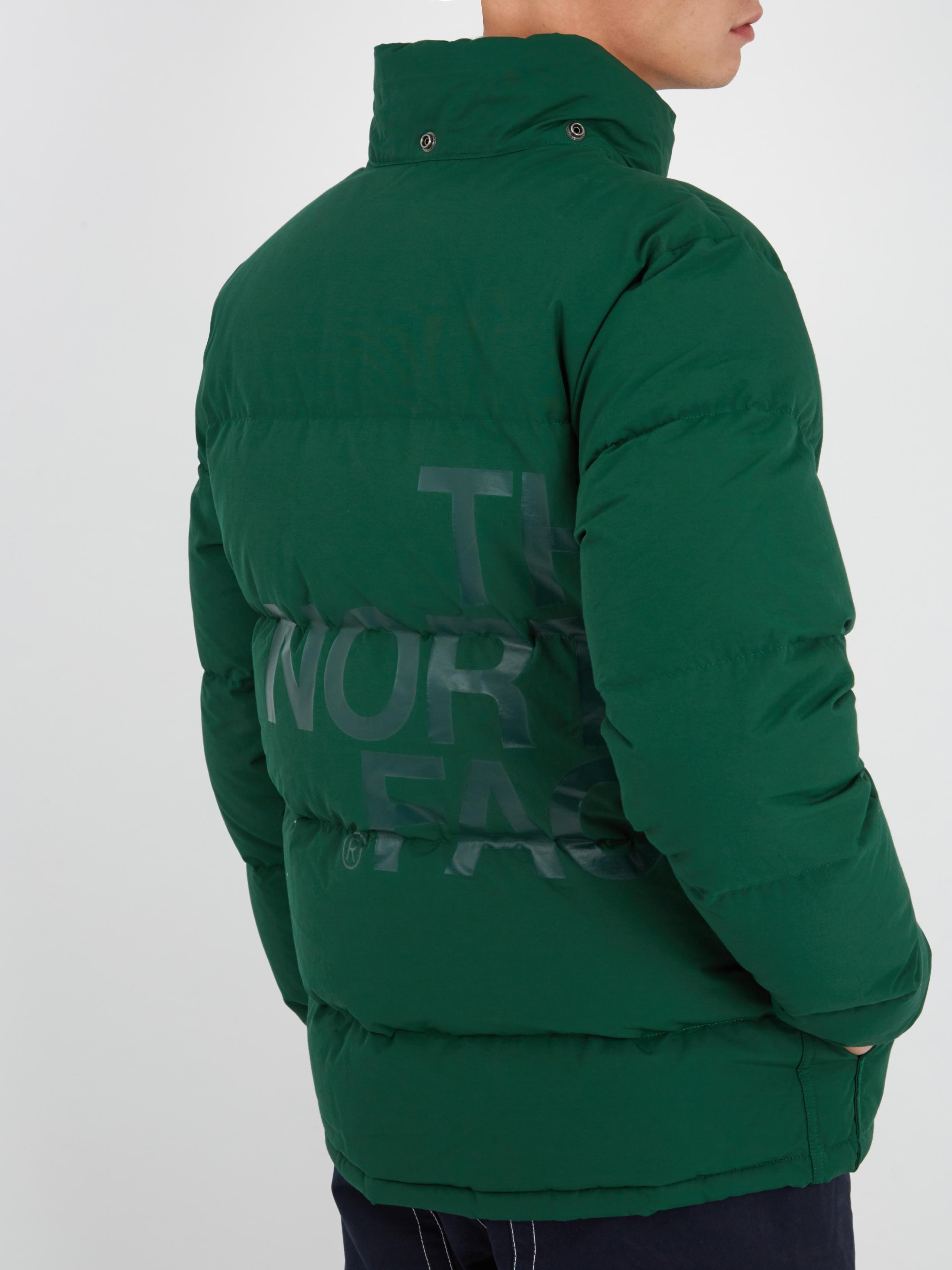 Junya Watanabe Cotton X The North Face Quilted Down Jacket in Green for Men