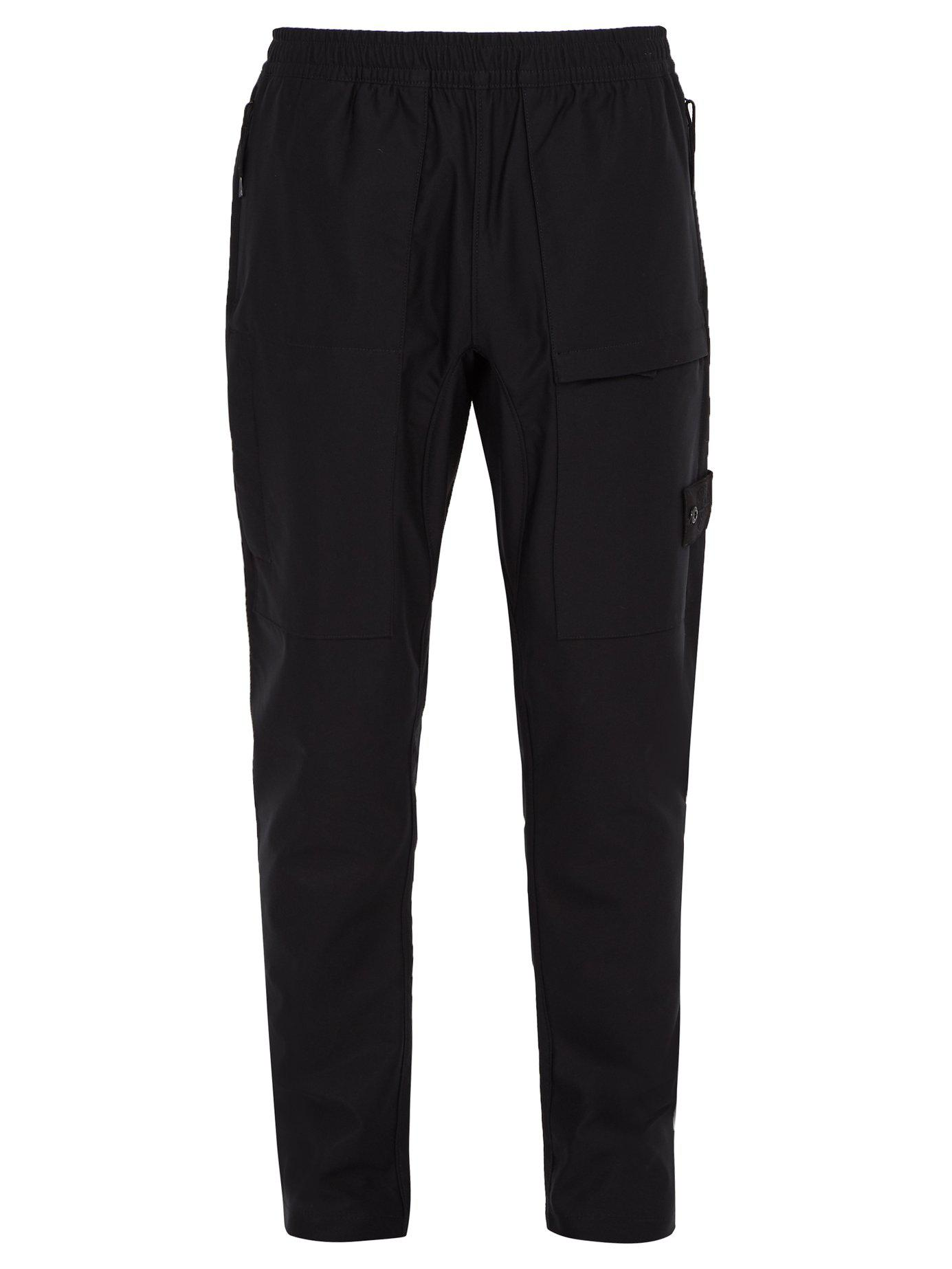 Stone Island Synthetic Ghost Stretch Nylon Cargo Trousers ...