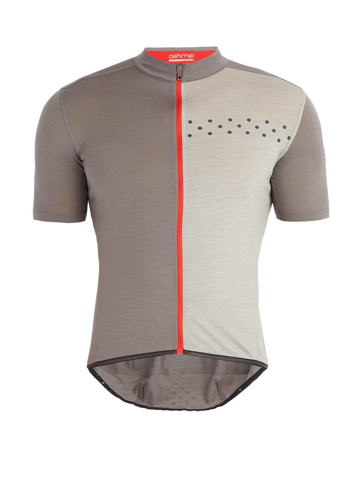 Ashmei - Gray Kom Technical Cycling Jersey for Men - Lyst. View fullscreen 16c6eea3f