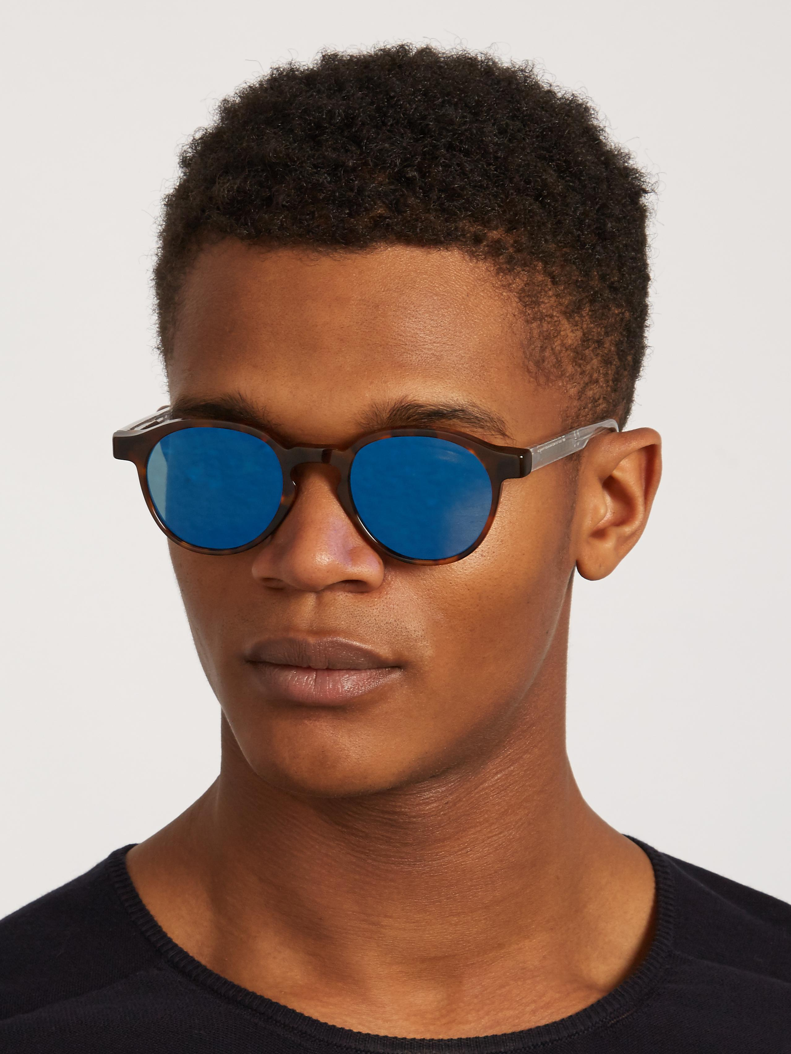 Retrosuperfuture The Iconic Series Mirrored Sunglasses for Men