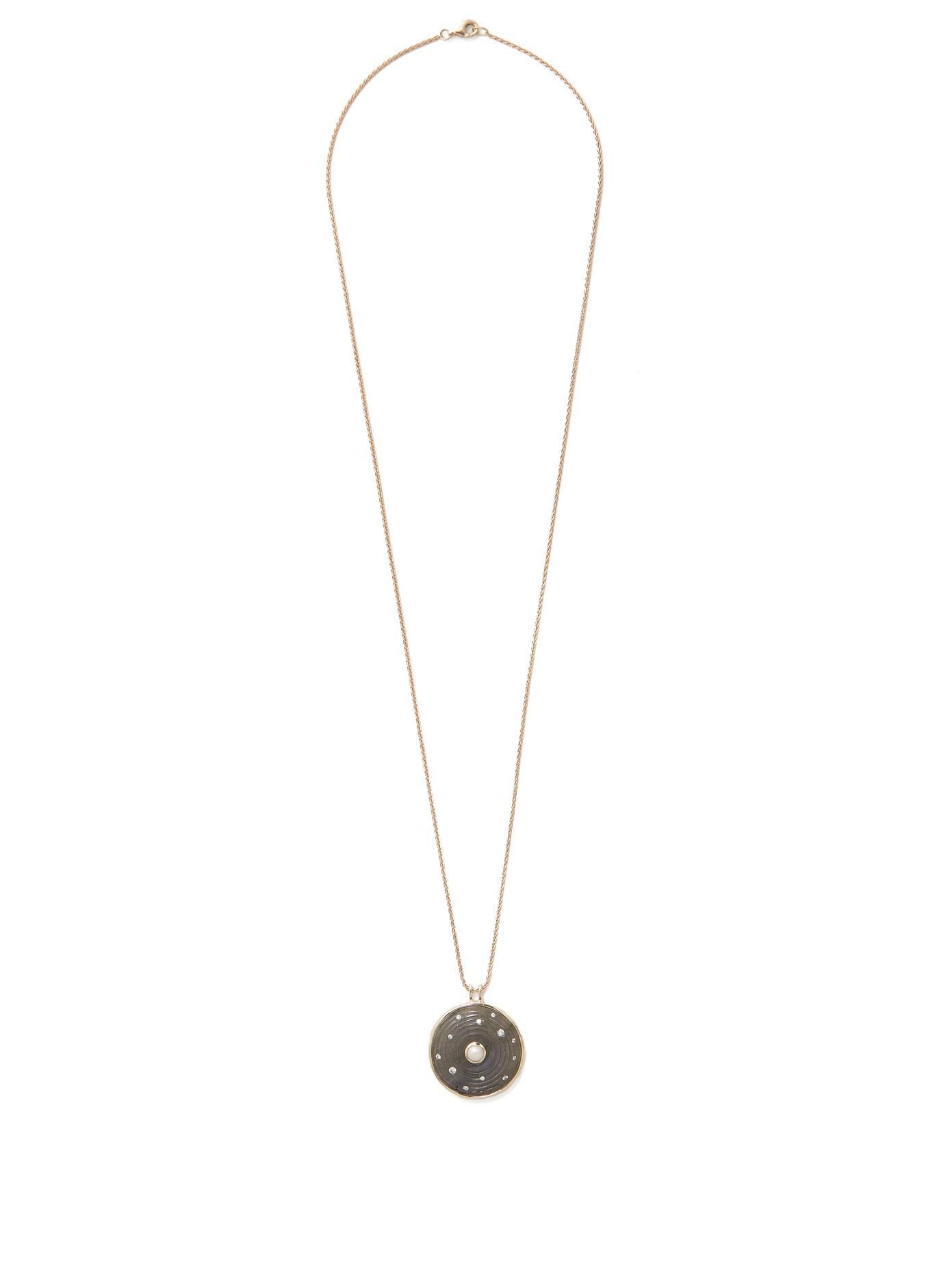 Noor Fares Solid Dodecahedron pendant necklace - Unavailable vyh4L
