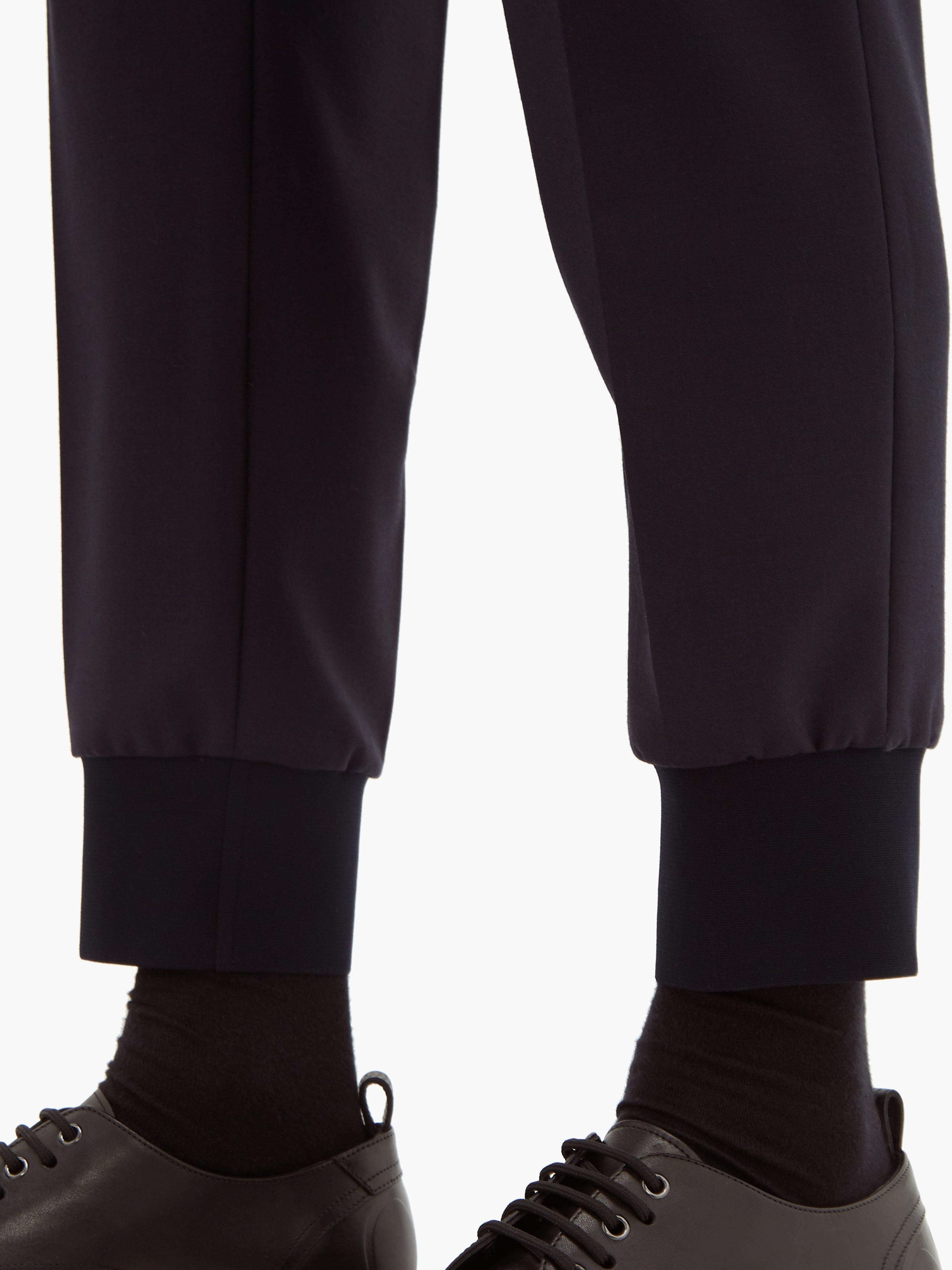 Pantalon habillé à ourlet ajusté Neil Barrett pour homme en coloris Bleu