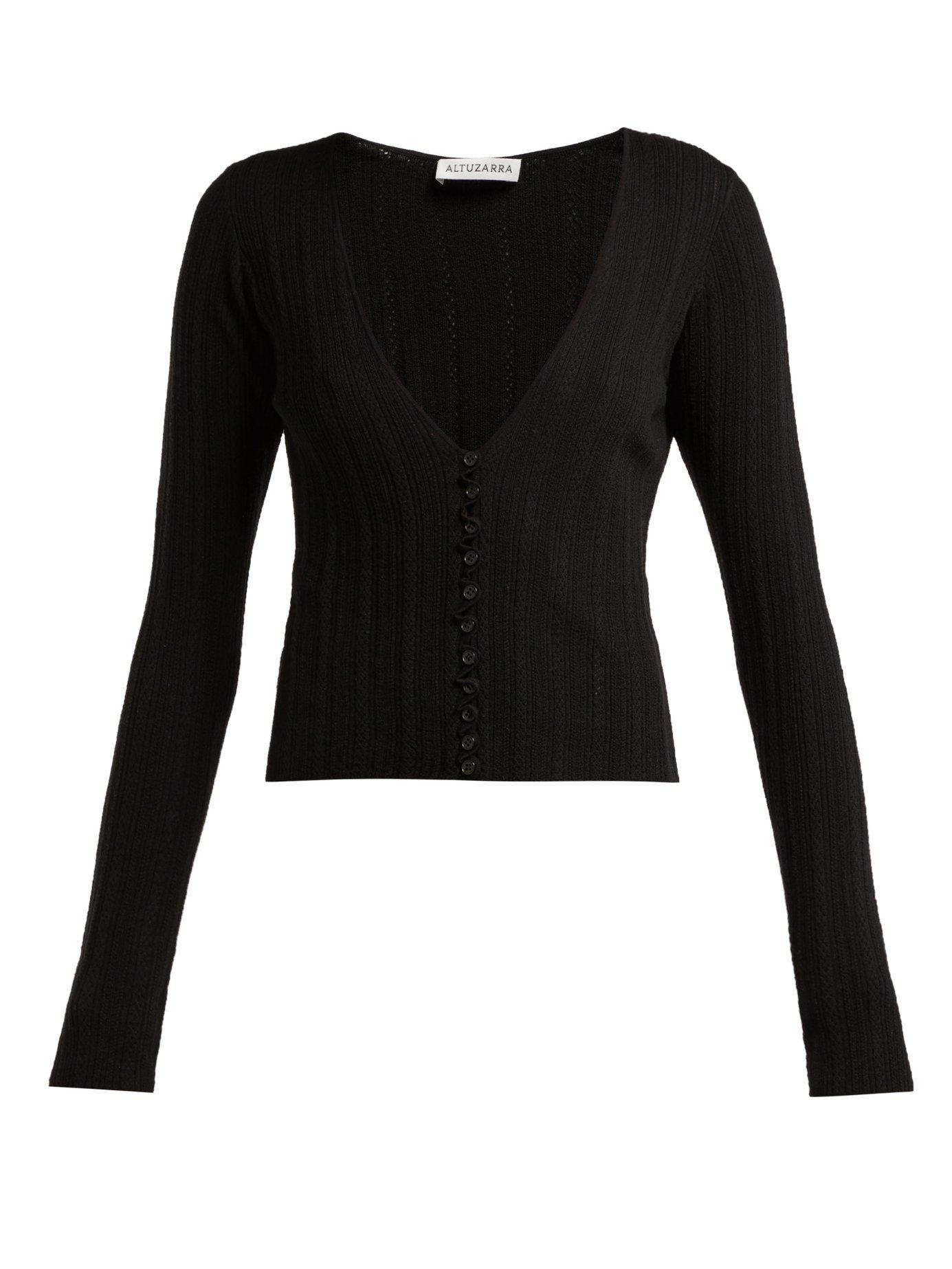 e7b6083049d7 altuzarra-black-Piazza-Wool-Blend-Pointelle-Cardigan.jpeg