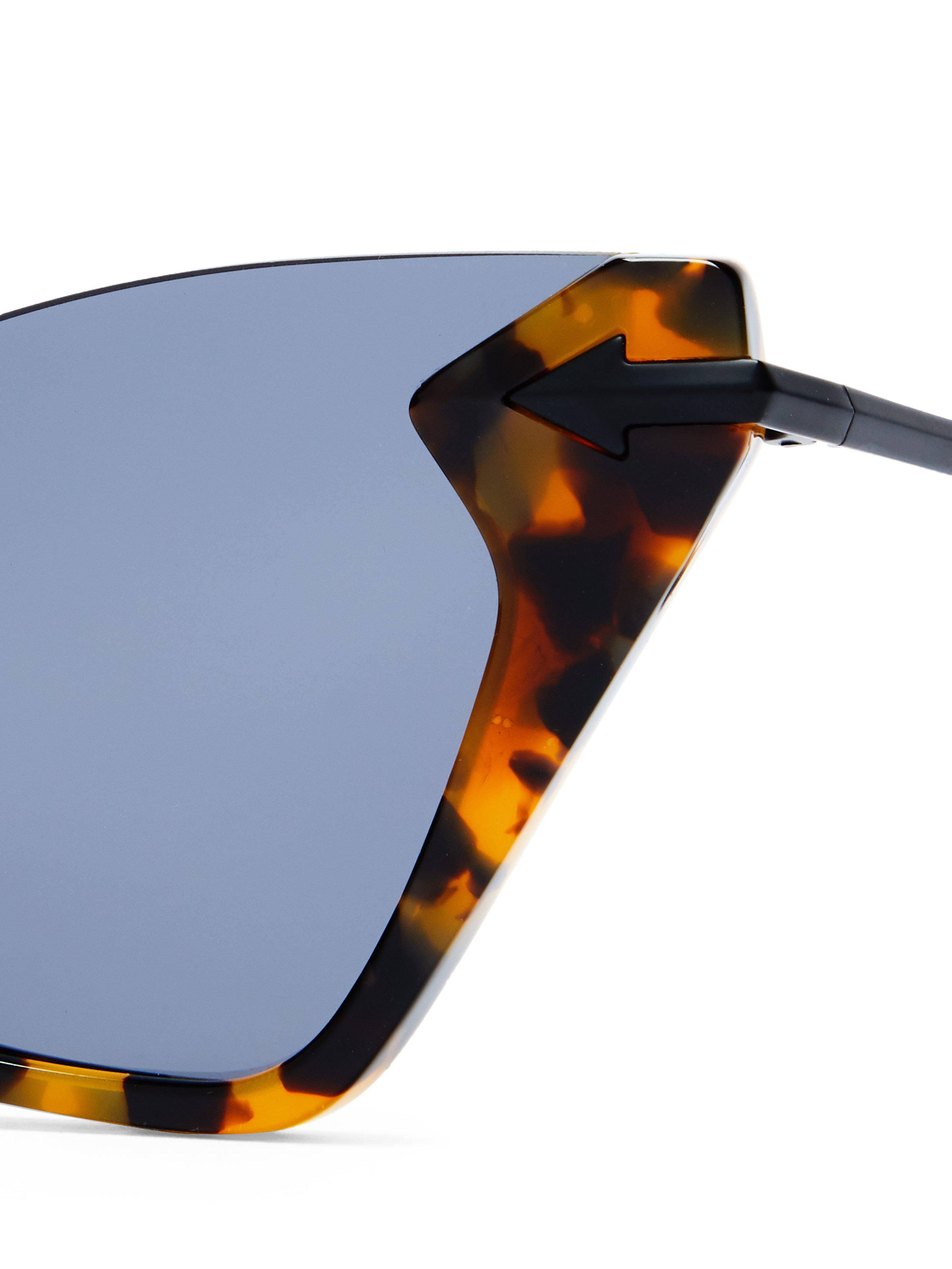2136e5b450 Karen Walker - Multicolor Sweet Tortoiseshell Cat Eye Sunglasses - Lyst.  View fullscreen