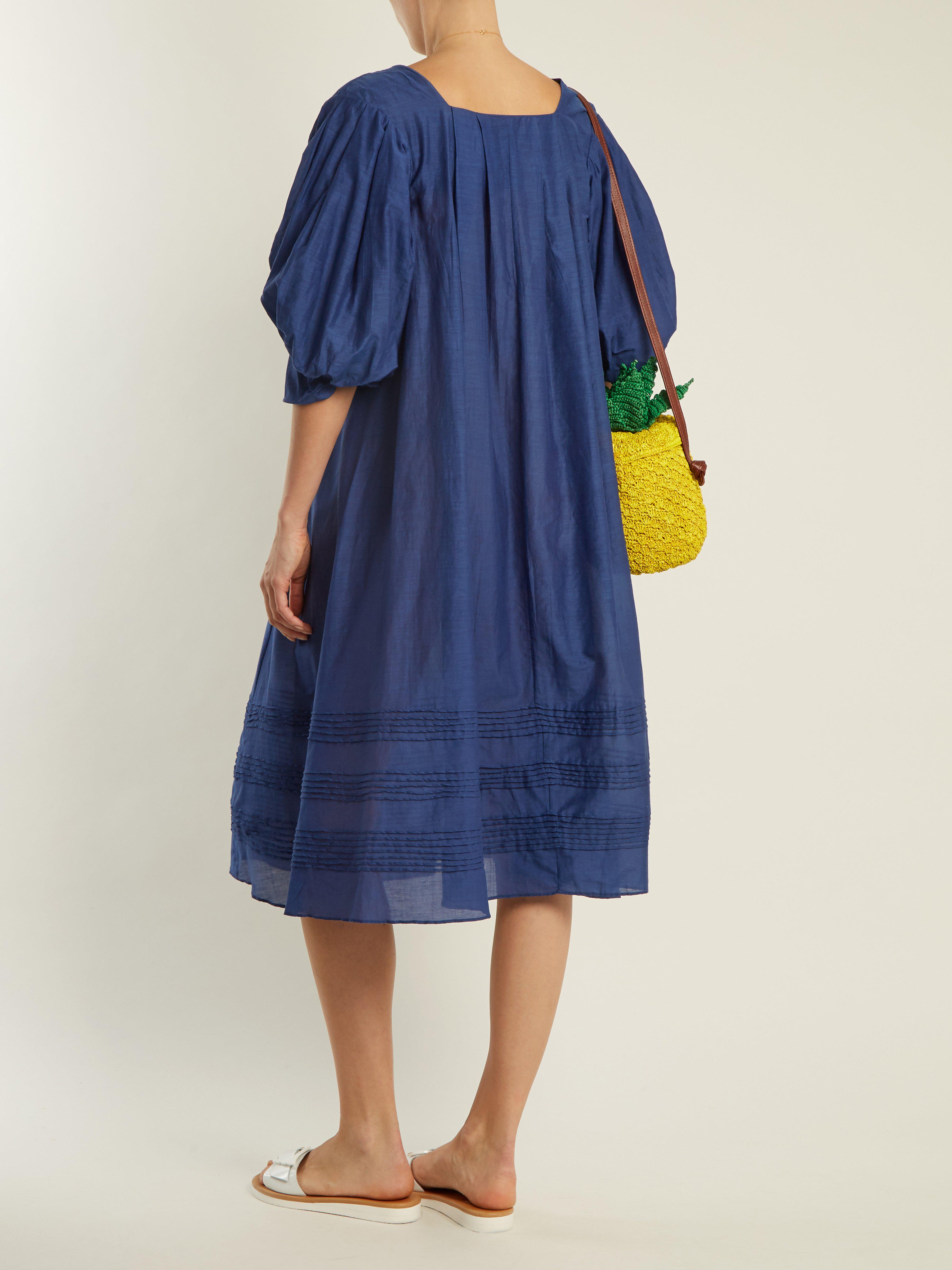 puff vestido de Colson manga De Thierry Venise Lyst azul Jours 8AXqx1a 52861ab95f55