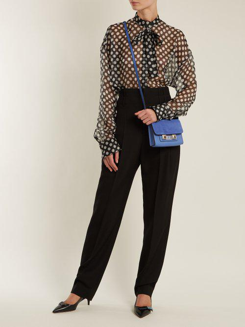 Proenza Schouler Leather Ps11 Cross-body Wallet Bag in Blue