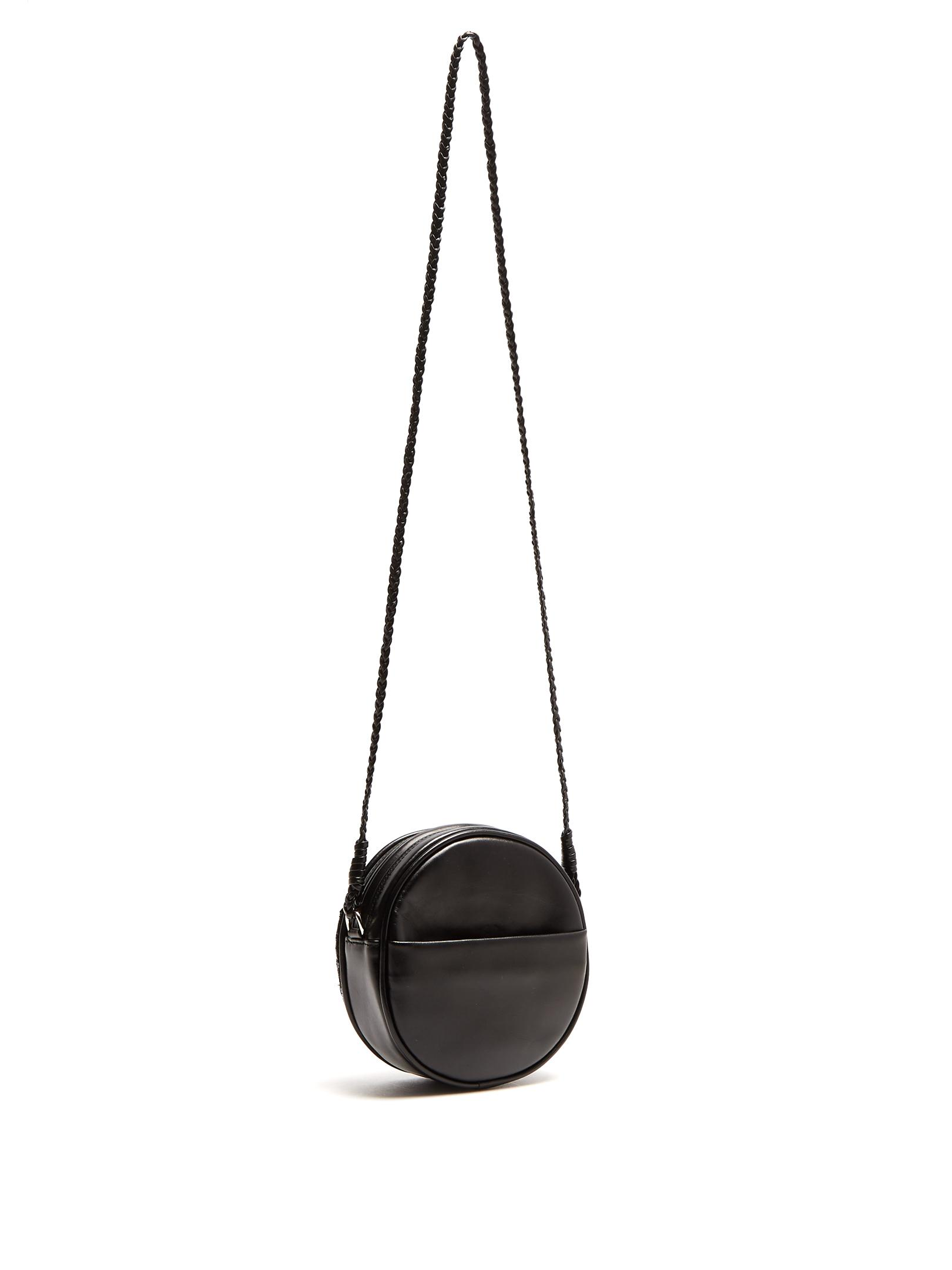 Sarah's Bag Leather Black Magic Woman Crossbody Bag