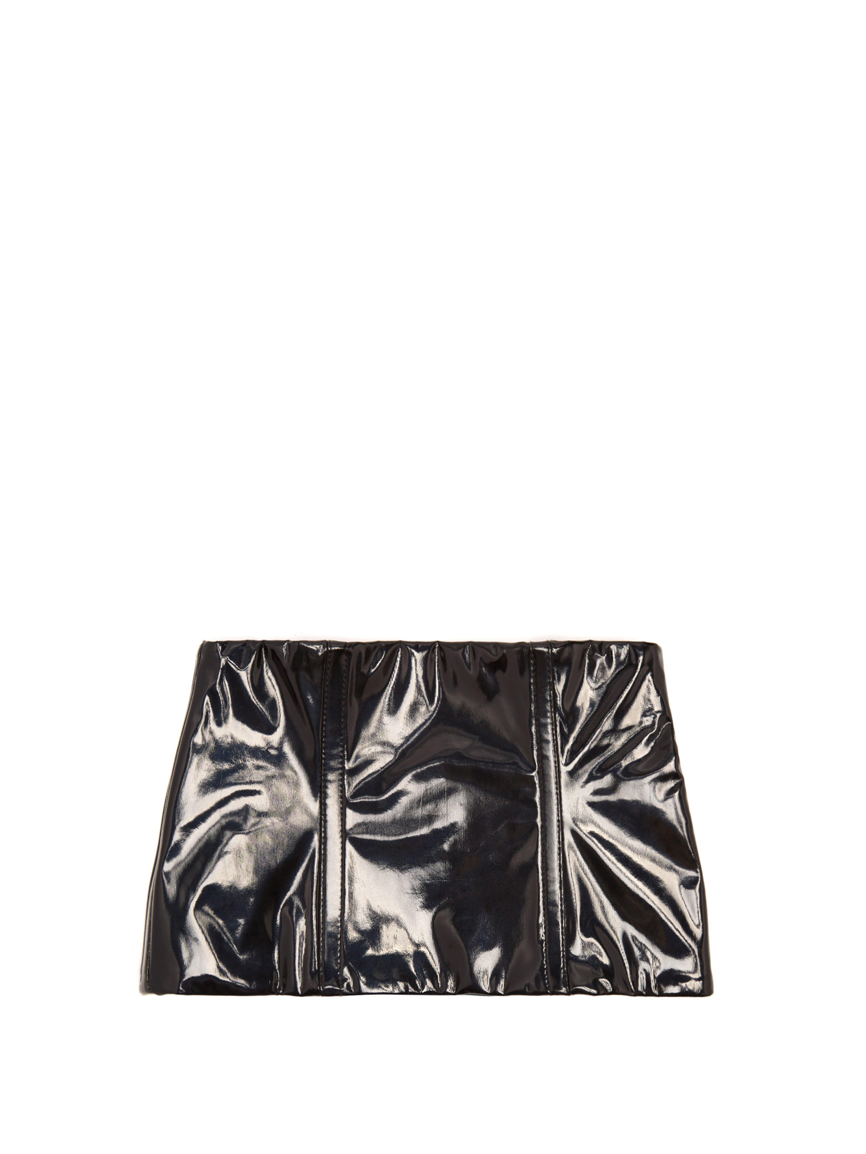 Lyst - Ceinture large brillante Tibi en coloris Noir db409cfc12c