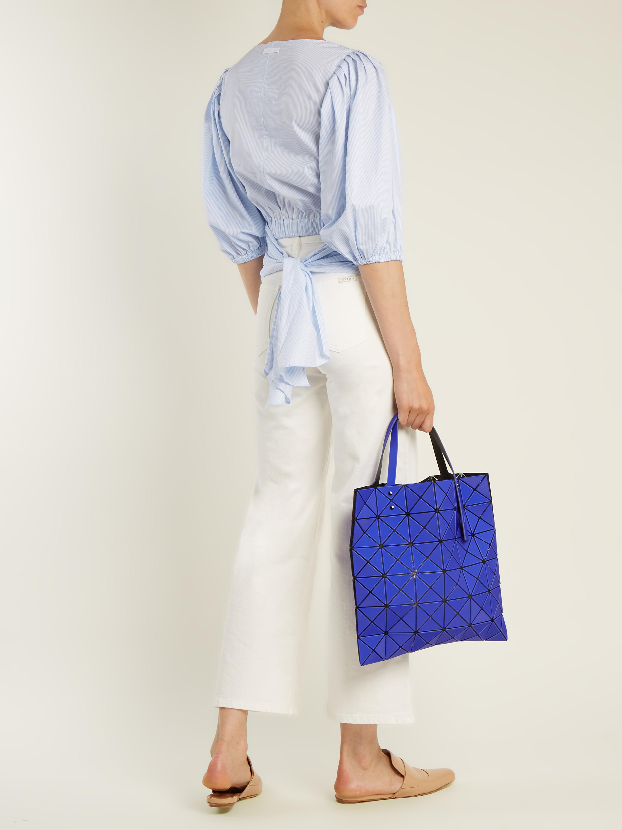 04c44fa928b5 Lyst - Bao Bao Issey Miyake Lucent Frost Tote in Blue