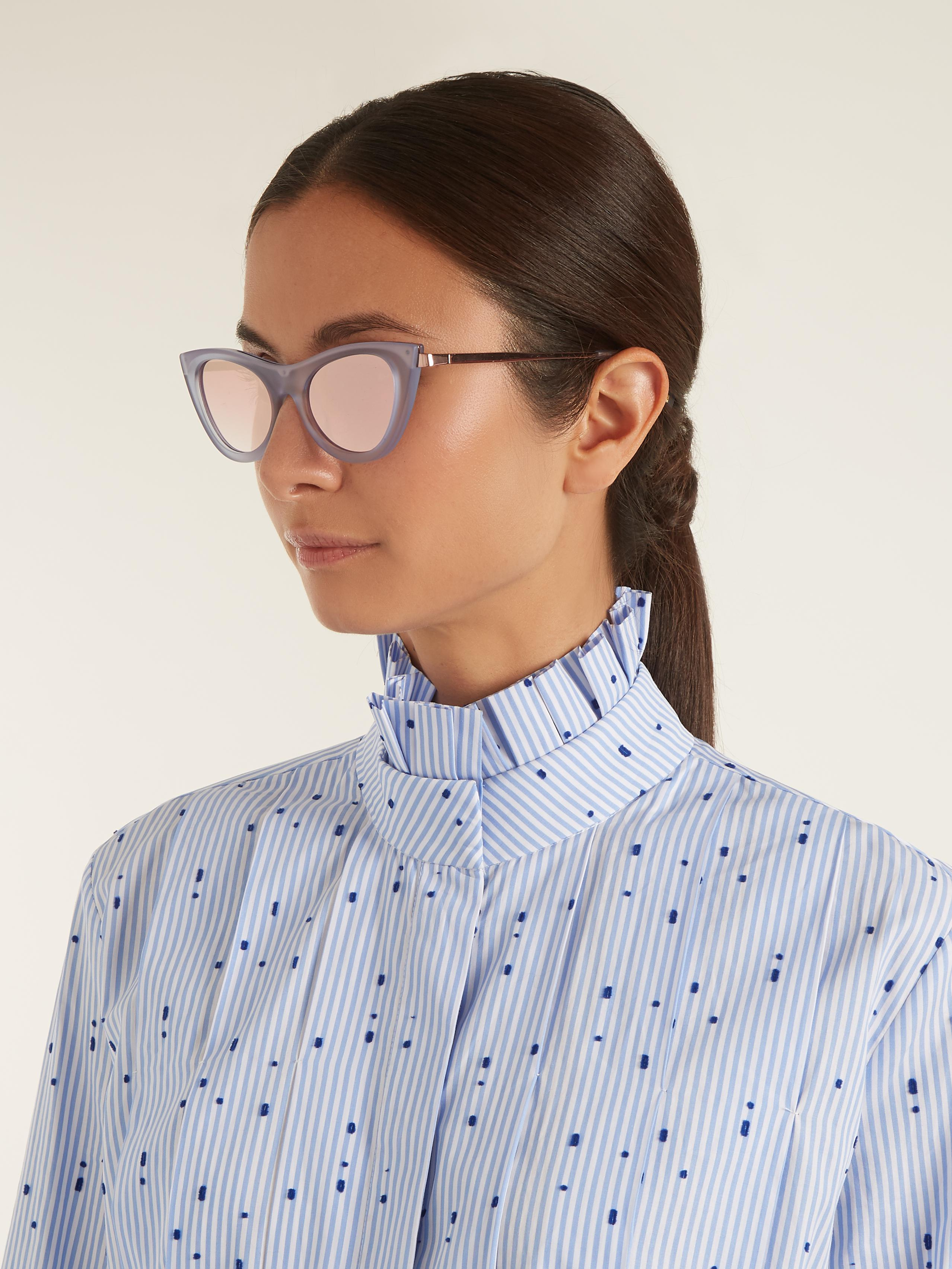 d7eeaecb707f Gallery. Previously sold at  MATCHESFASHION.COM · Women s Cat Eye Sunglasses  Women s Le Specs Enchantress ...
