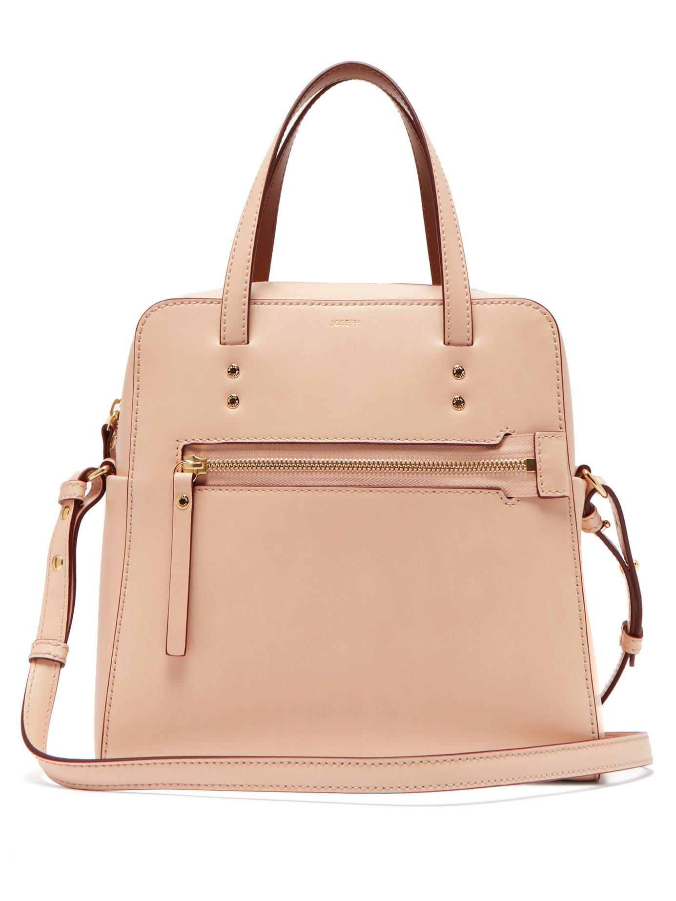 Joseph - Pink Ryder Leather Cross Body Bag - Lyst. View fullscreen 970c3ce234cf4