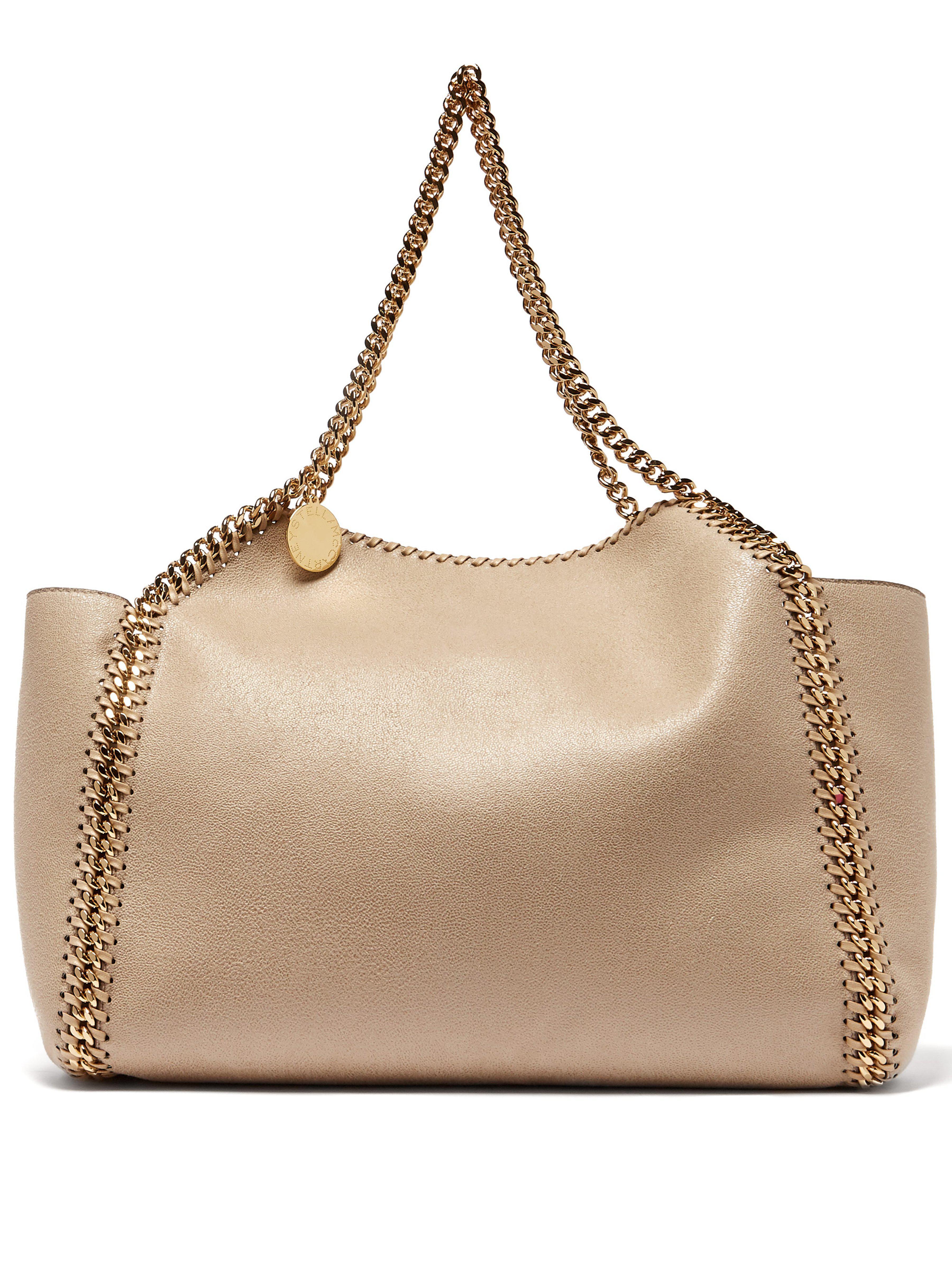 de56bacc8e88 Stella McCartney Falabella Small Reversible Faux Leather Tote in ...