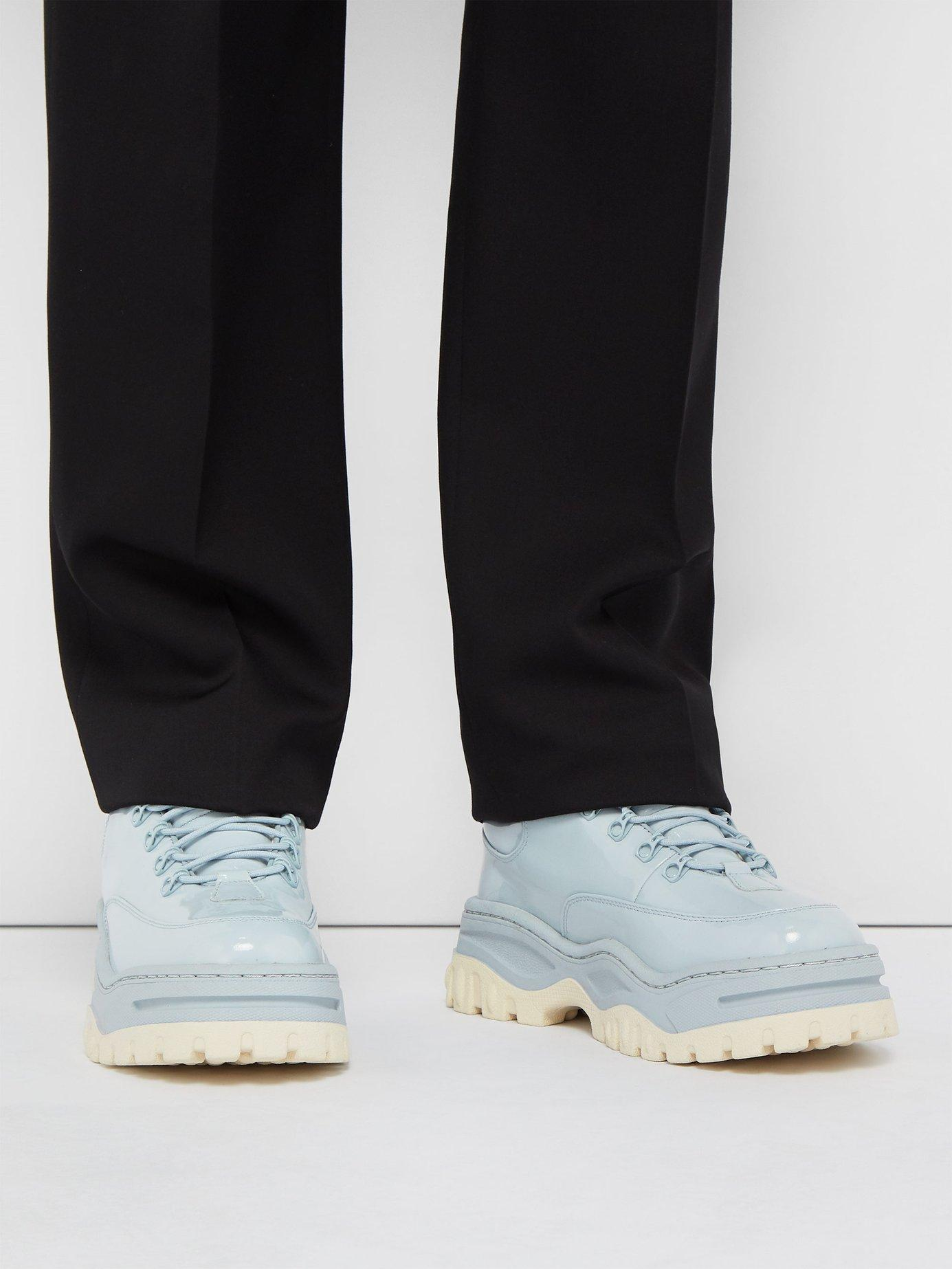 Blue Patent Angel Sneakers for Men - Lyst