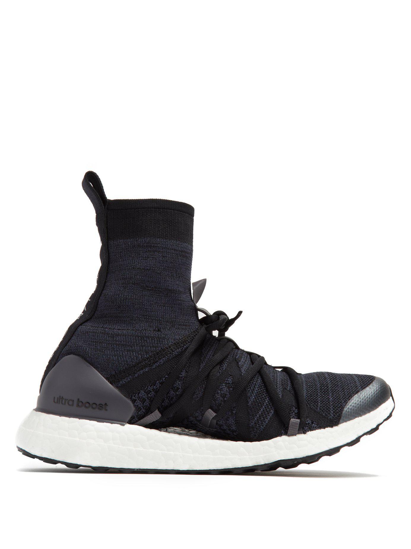 bbcc0e06a ... top quality lyst adidas by stella mccartney ultra boost x high top sock  3f085 16e95