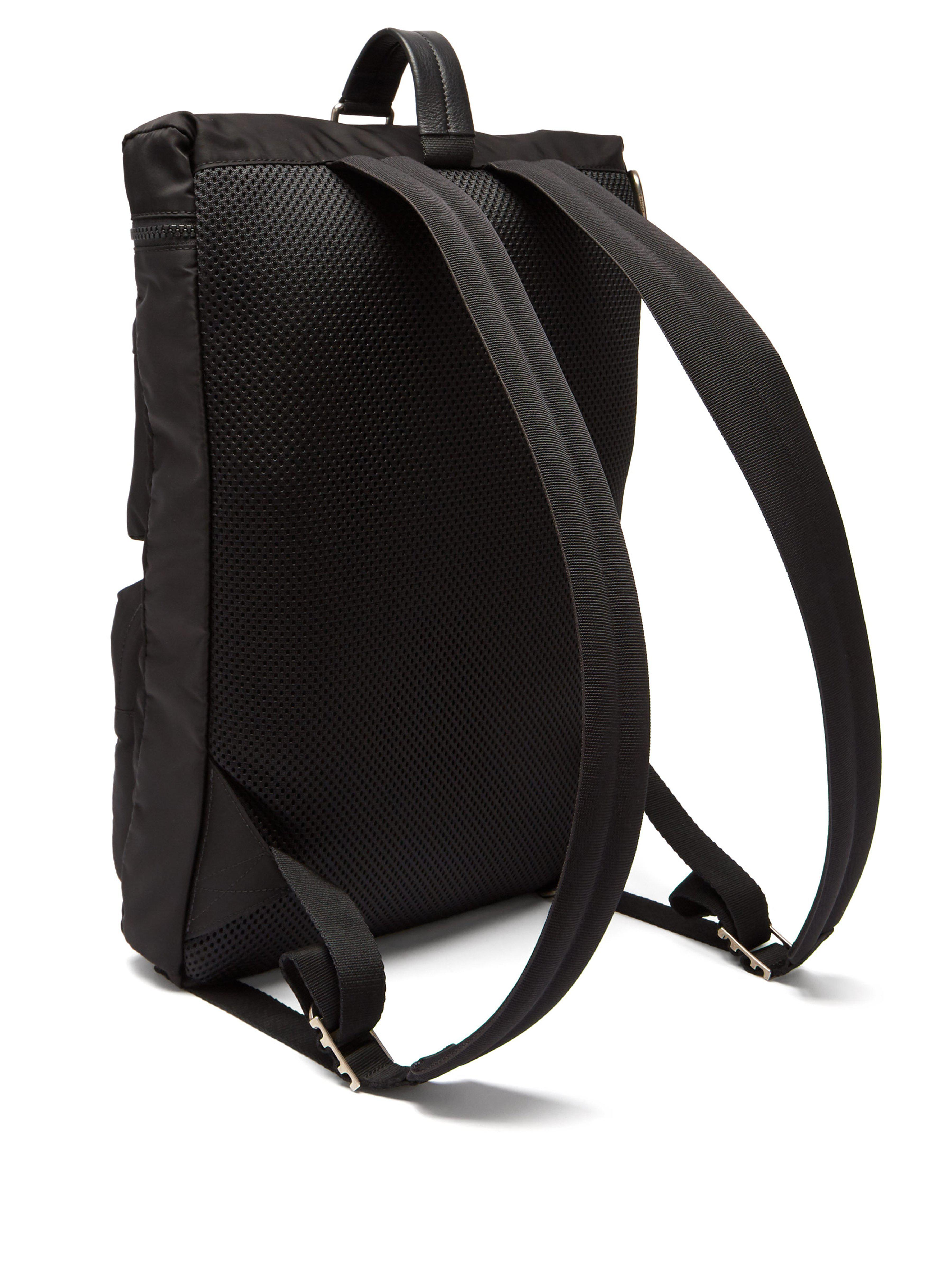 Givenchy Synthetic Ut3 Leather Trimmed Nylon Backpack in Black for Men
