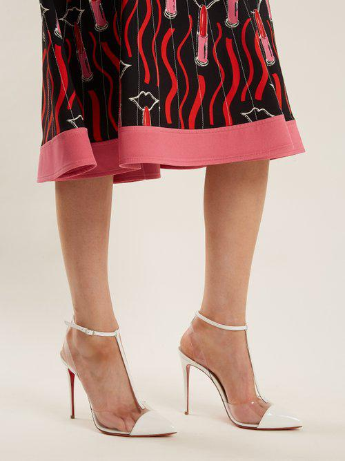 Christian Louboutin Nosy 100mm Leather