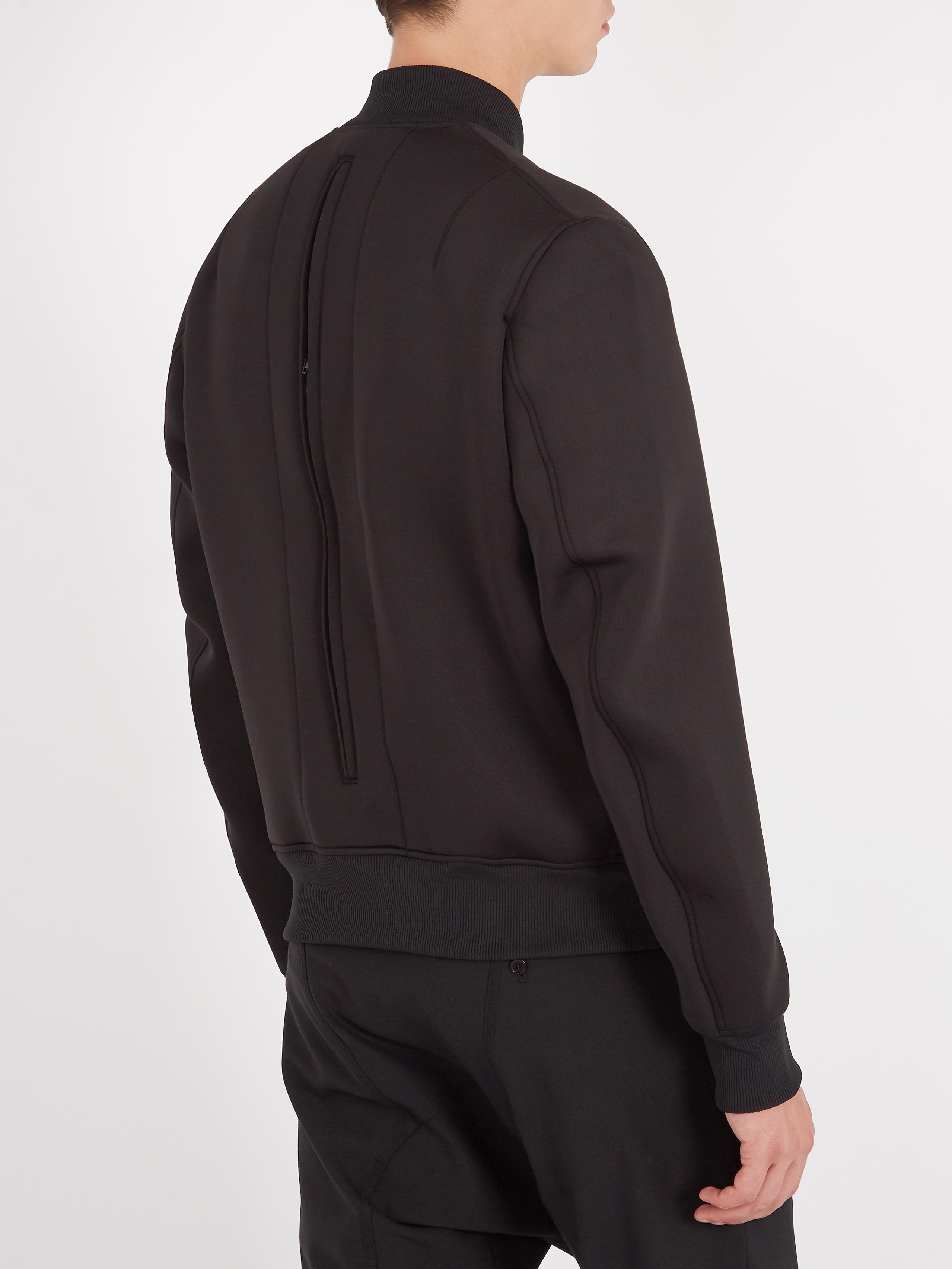 ... Ultratech Backpack - Lyst  size 40 434e3 db341 Lyst Y 3 Zip through  Neoprene Bomber Jacket in Black for Men ... c7c17a0ecb