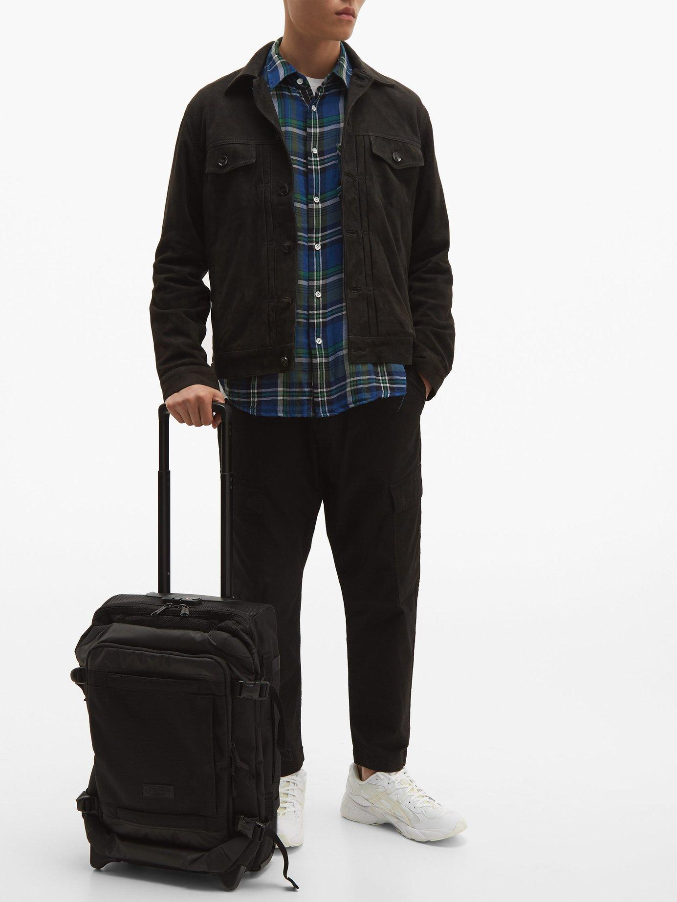 dfd7a8705 Eastpak Tranverz Cnnct Coat Carry On Suitcase in Black for Men - Lyst