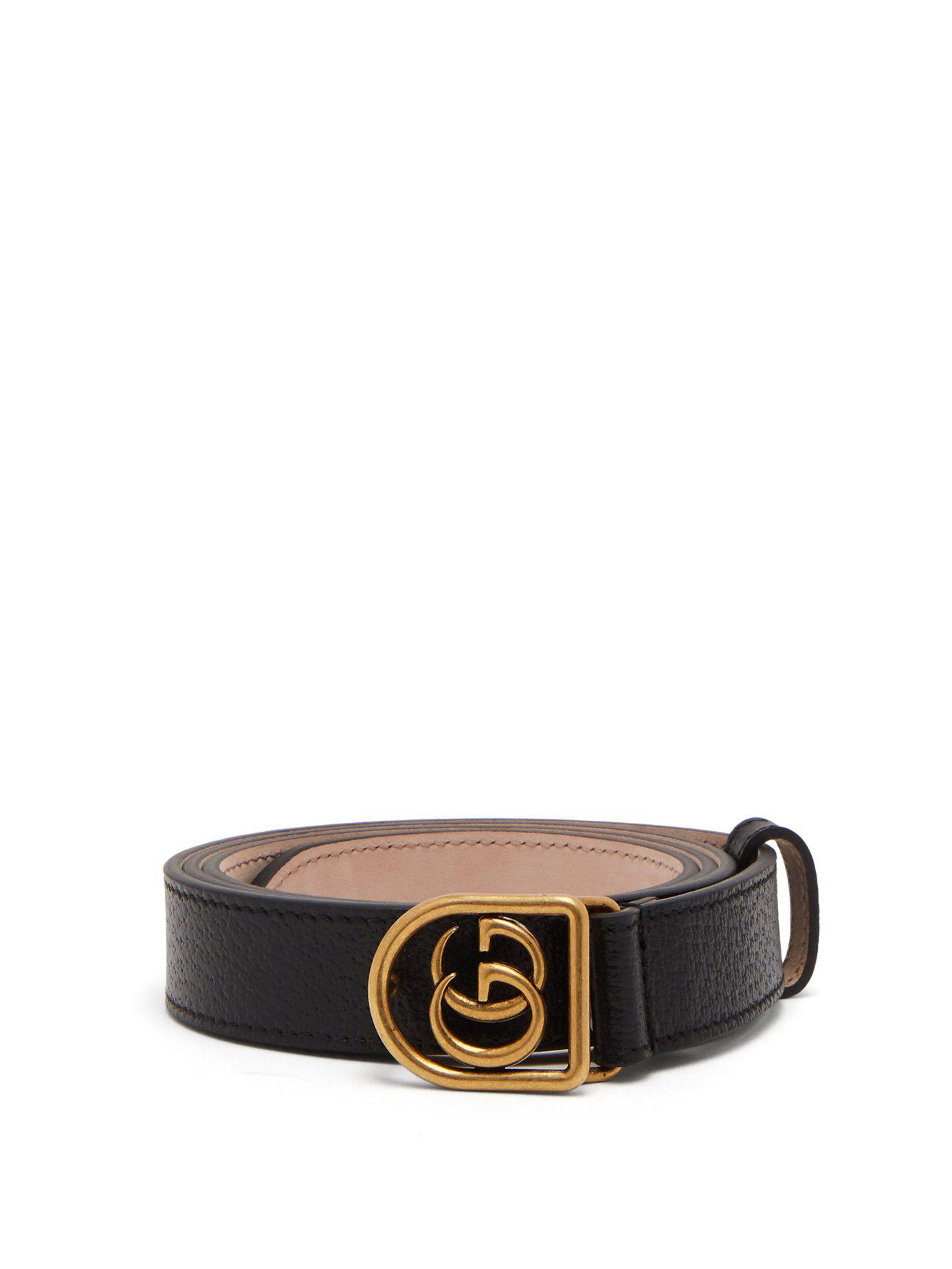 8b687c0022d Lyst - Gucci Tiger Head Leather Belt in Black for Men - Save 61%