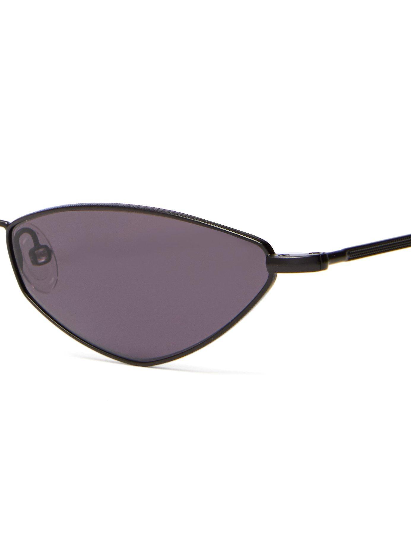d66311aecbd Lyst - Andy Wolf Eliza Cat Eye Sunglasses in Black for Men