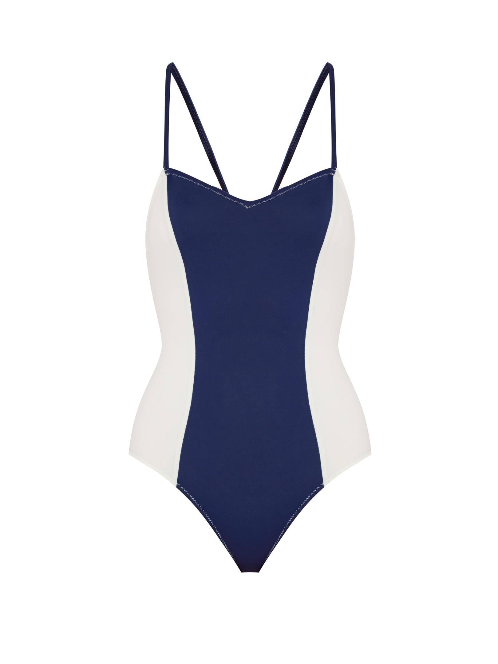 d23677c4d6288 Solid & Striped The Diana Swimsuit in Blue - Lyst