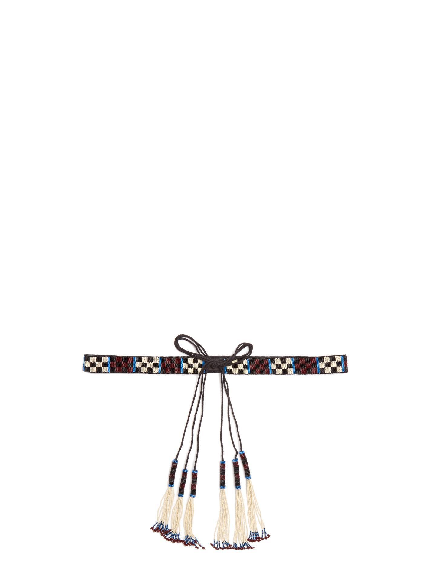 Beaded tassel tie belt Isabel Marant aCWUxzA4k
