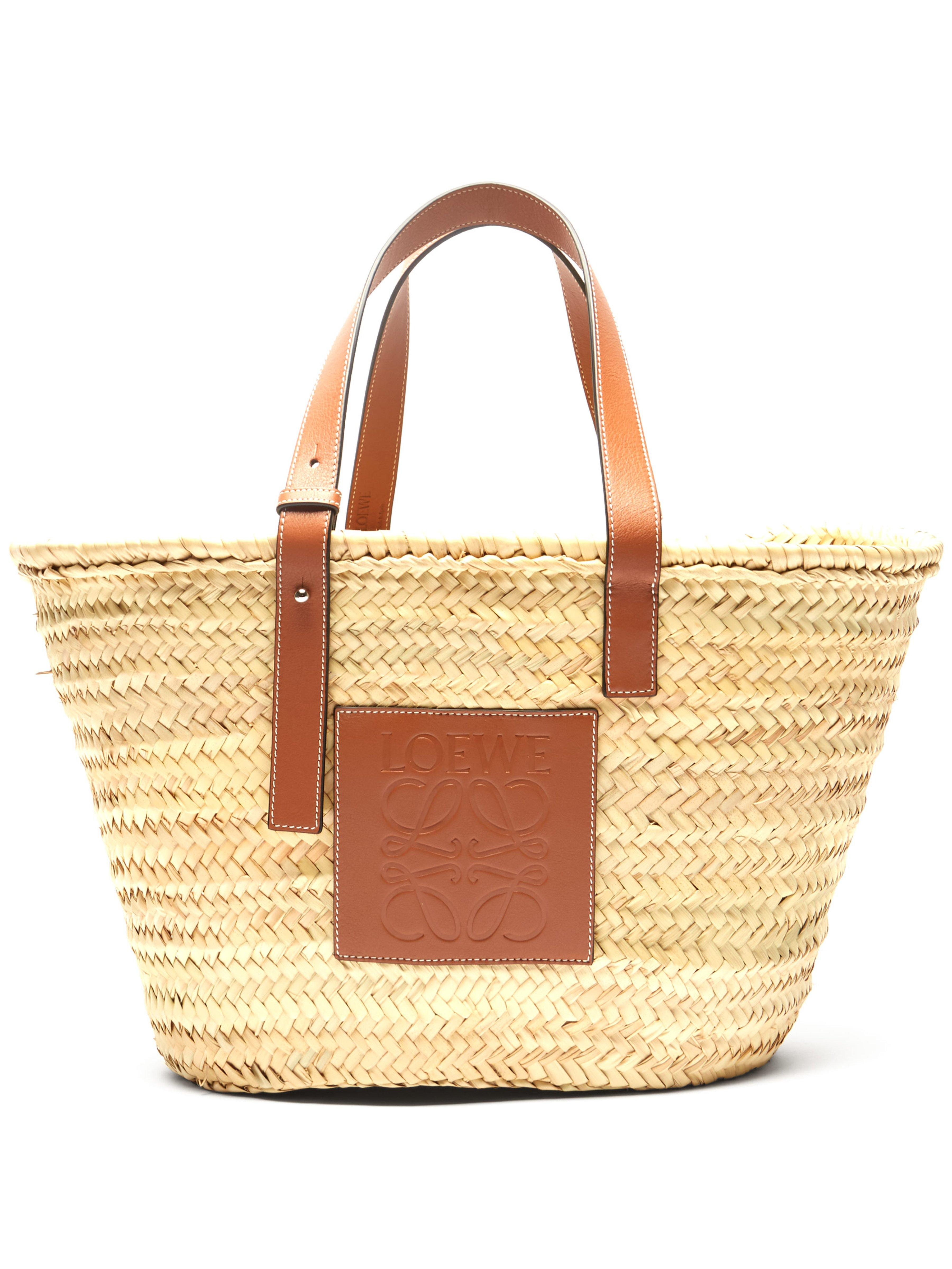 Loewe Medium Woven Basket Bag in Natural for Men - Lyst 2c03d7e14eb1f