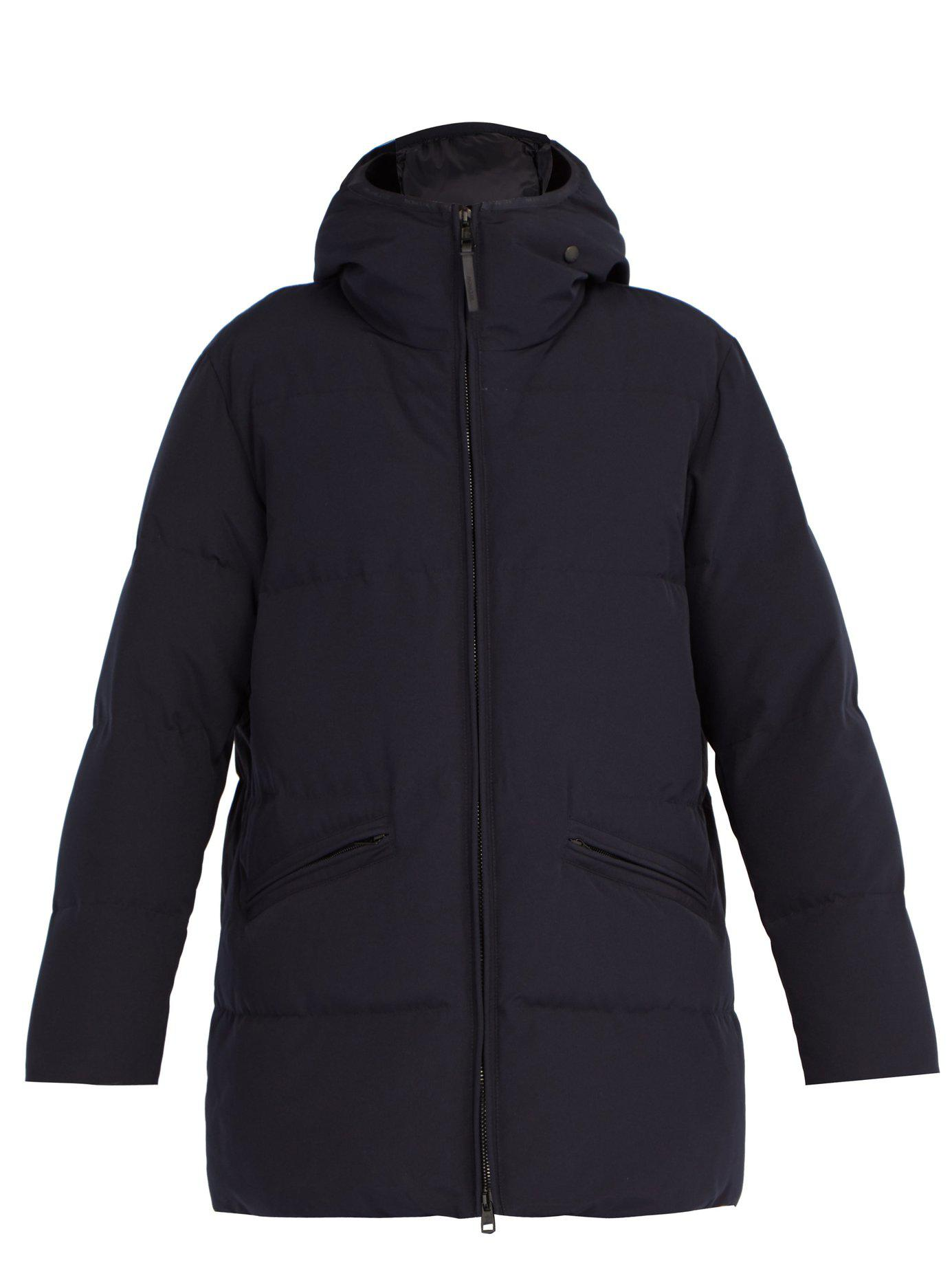 b9cb74be3 Lyst - Moncler Montlouris Down Filled Parka in Blue for Men