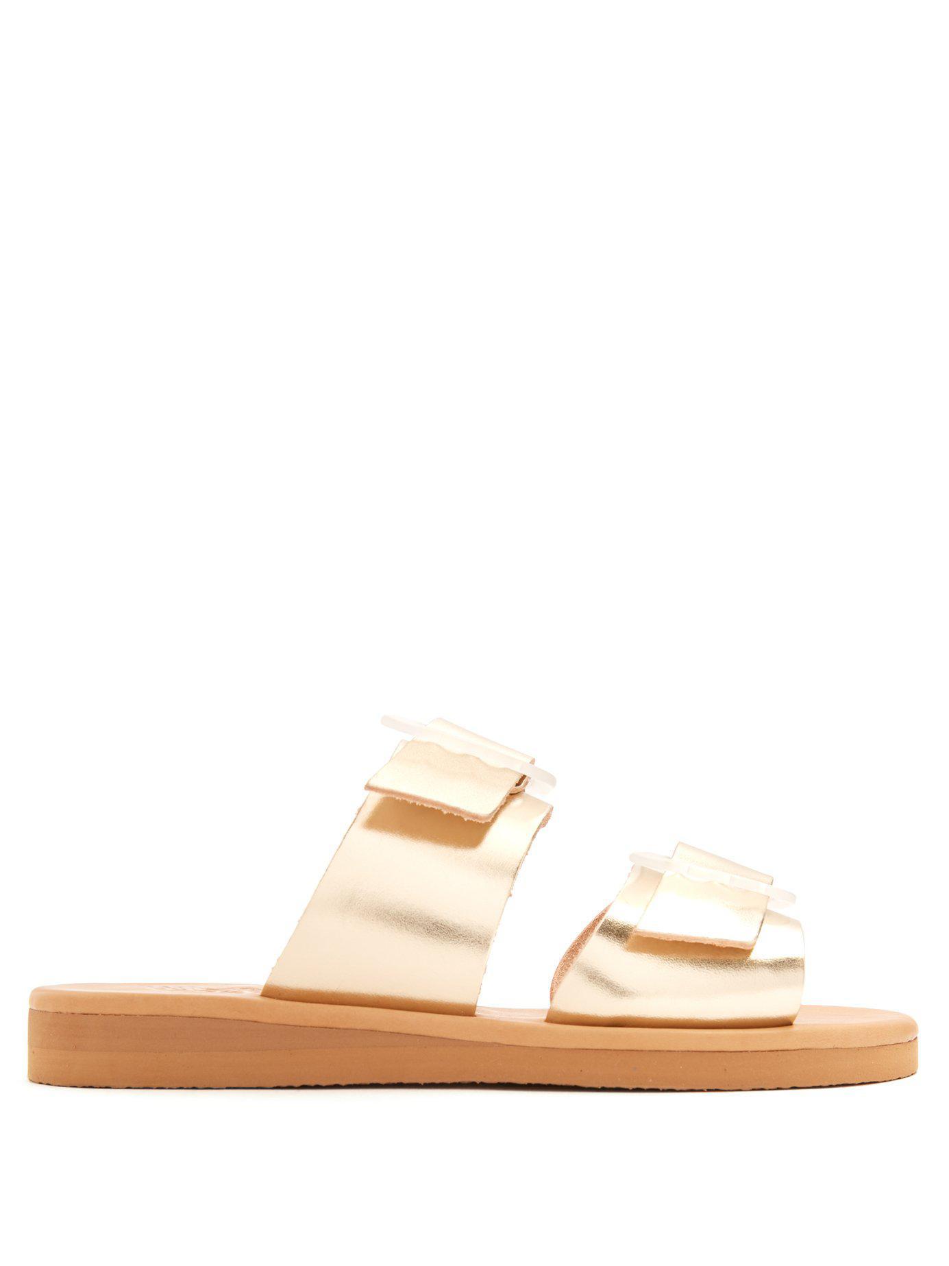 Sandales en cuir verni IasoAncient Greek Sandals j0ovvege