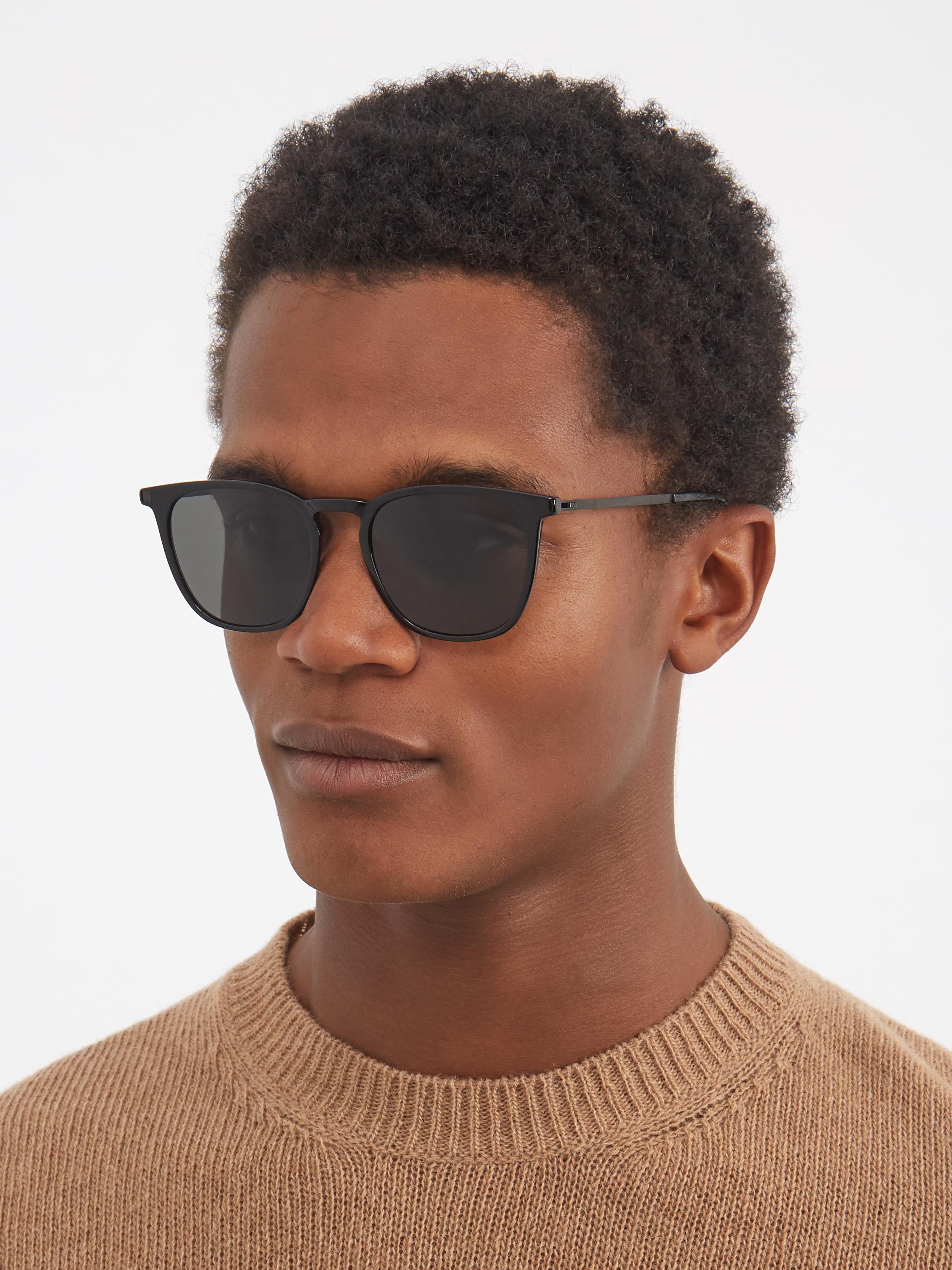 Mykita X Maison Margiela Eska C2 D-frame Sunglasses in Black for Men