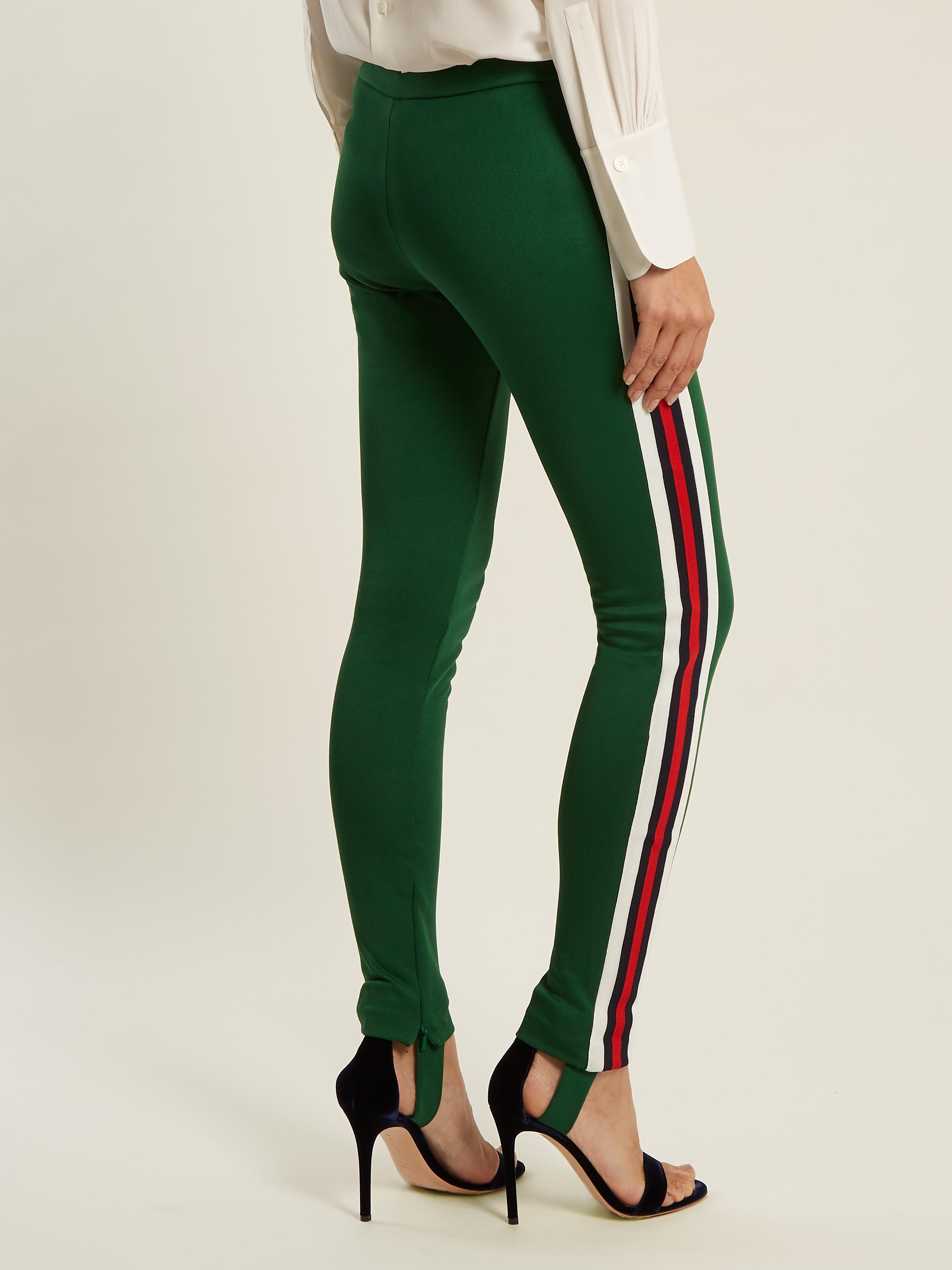 3f4dc0bbd Gucci Green Logo Tights