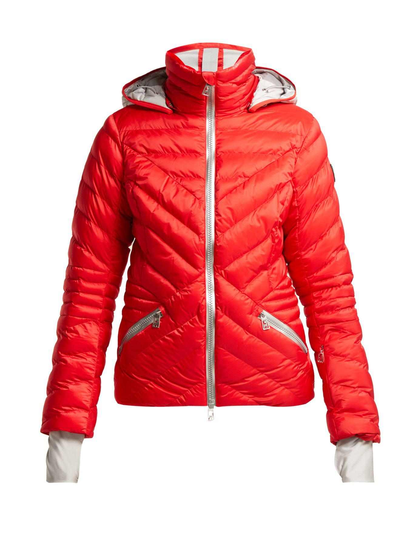08eedc6c2d80c Lyst - Toni Sailer Clementine Quilted Ski Jacket in Red