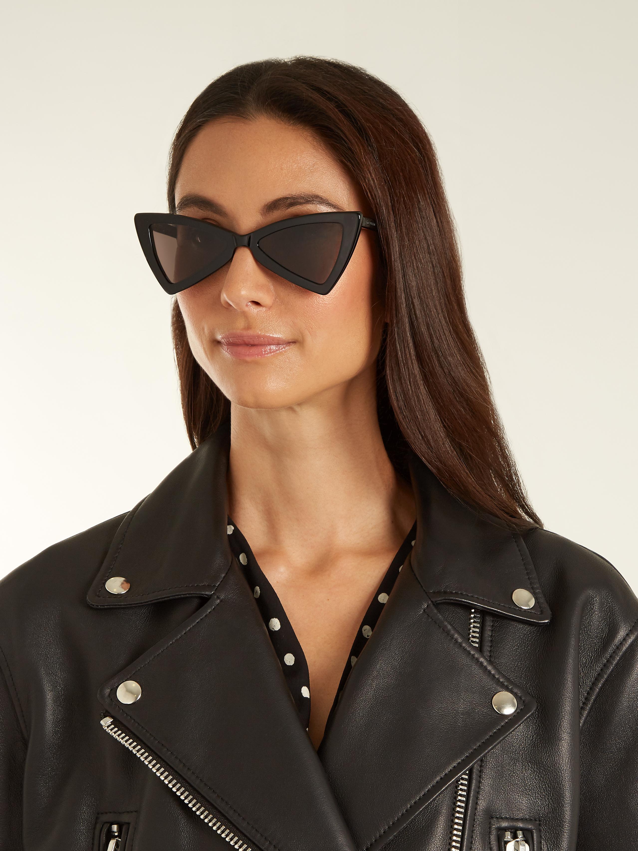 Jerry studded sunglasses - Black Saint Laurent Eyewear lvB5aok8gE