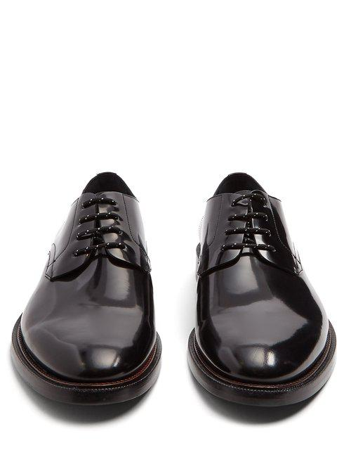 Alvin high-shine leather derby shoes Burberry 5pLXi
