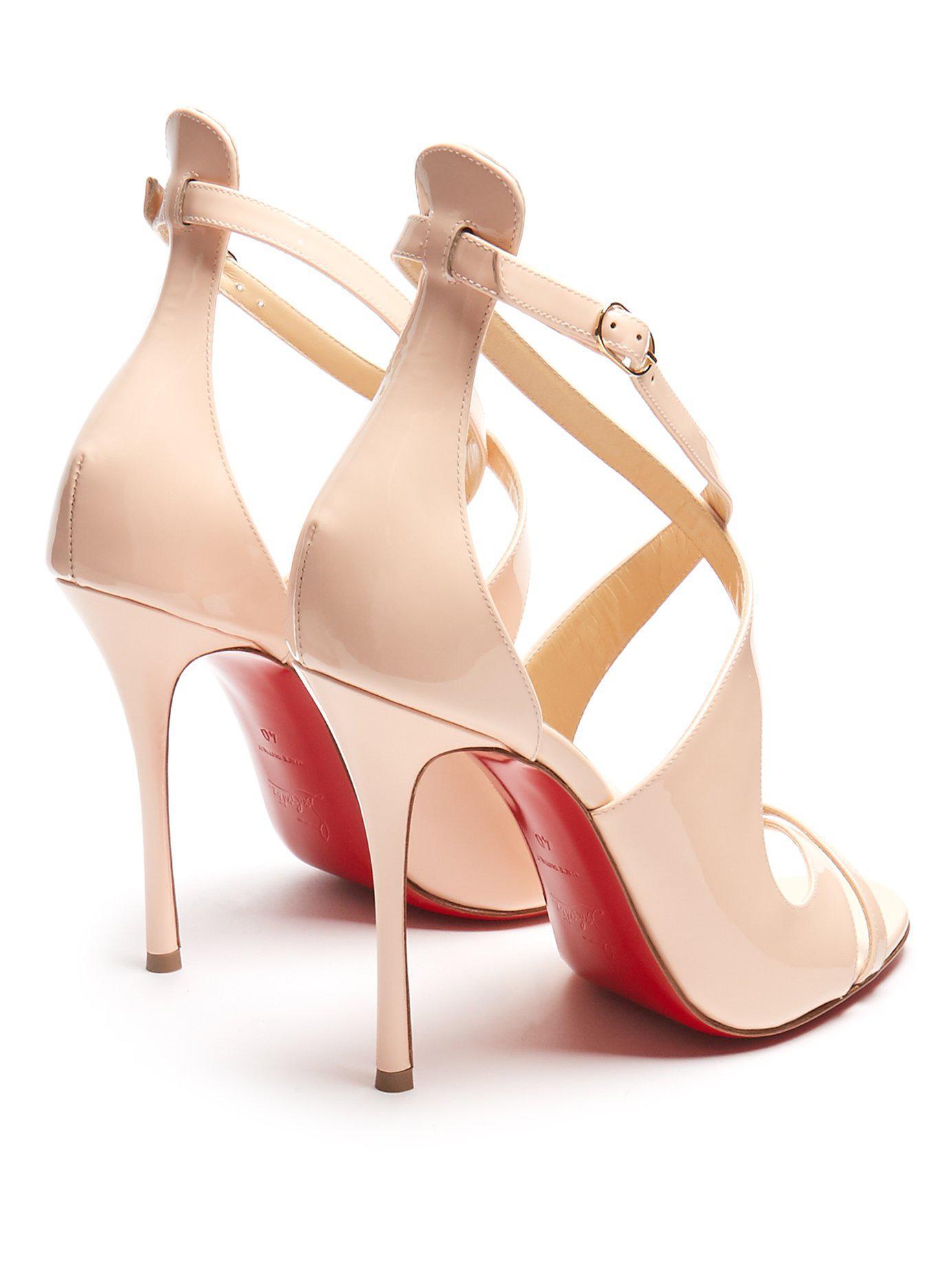 buy popular 899f8 3f5f4 Women's Pink Malefissima Patent Leather Pumps